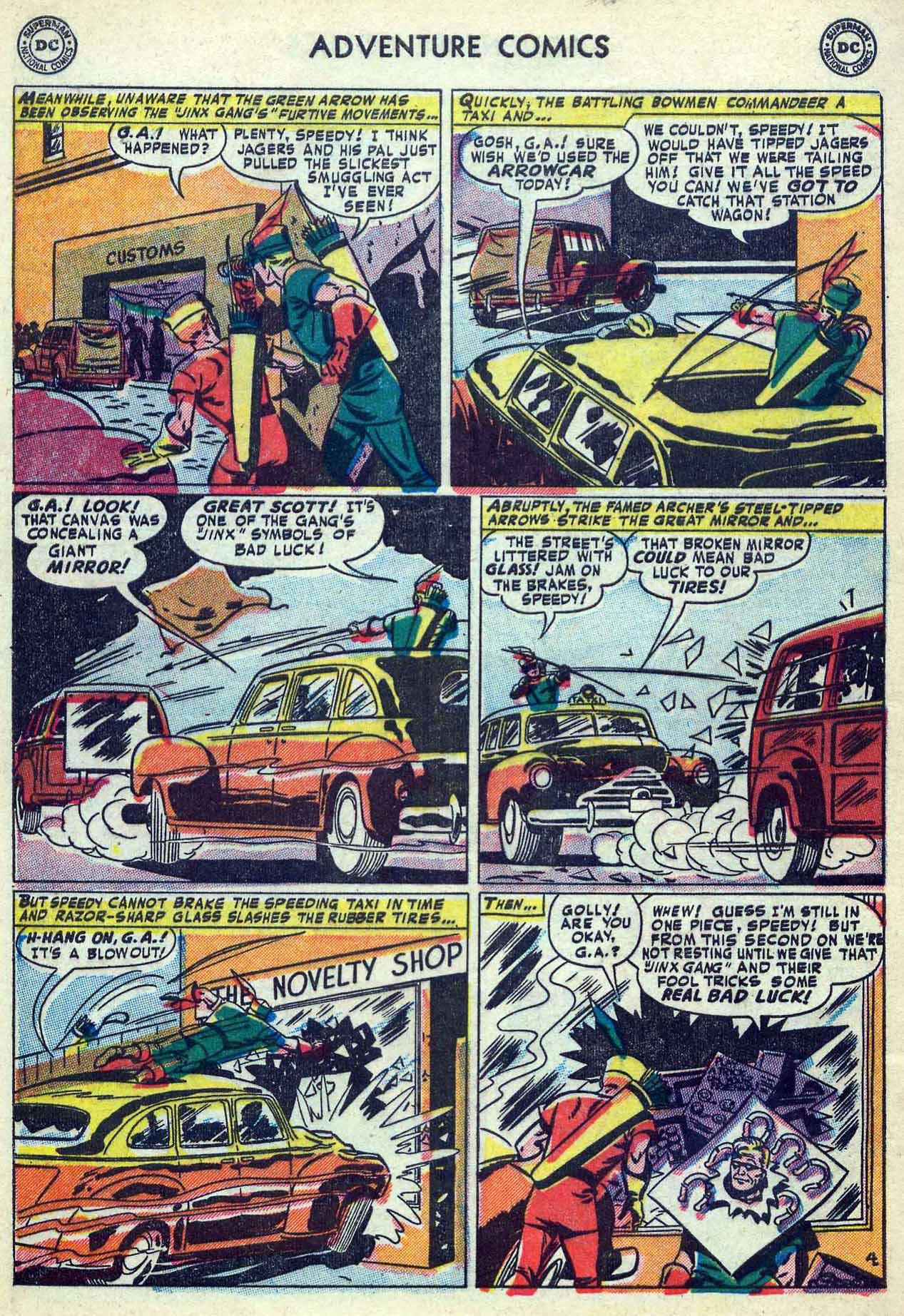 Read online Adventure Comics (1938) comic -  Issue #180 - 38