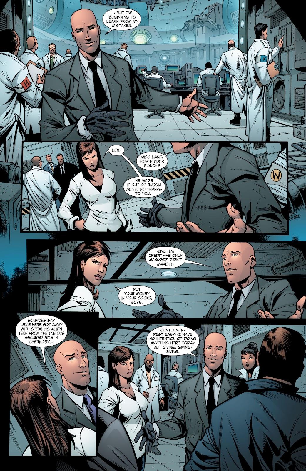Read online Smallville Season 11 [II] comic -  Issue # TPB 8 - 53
