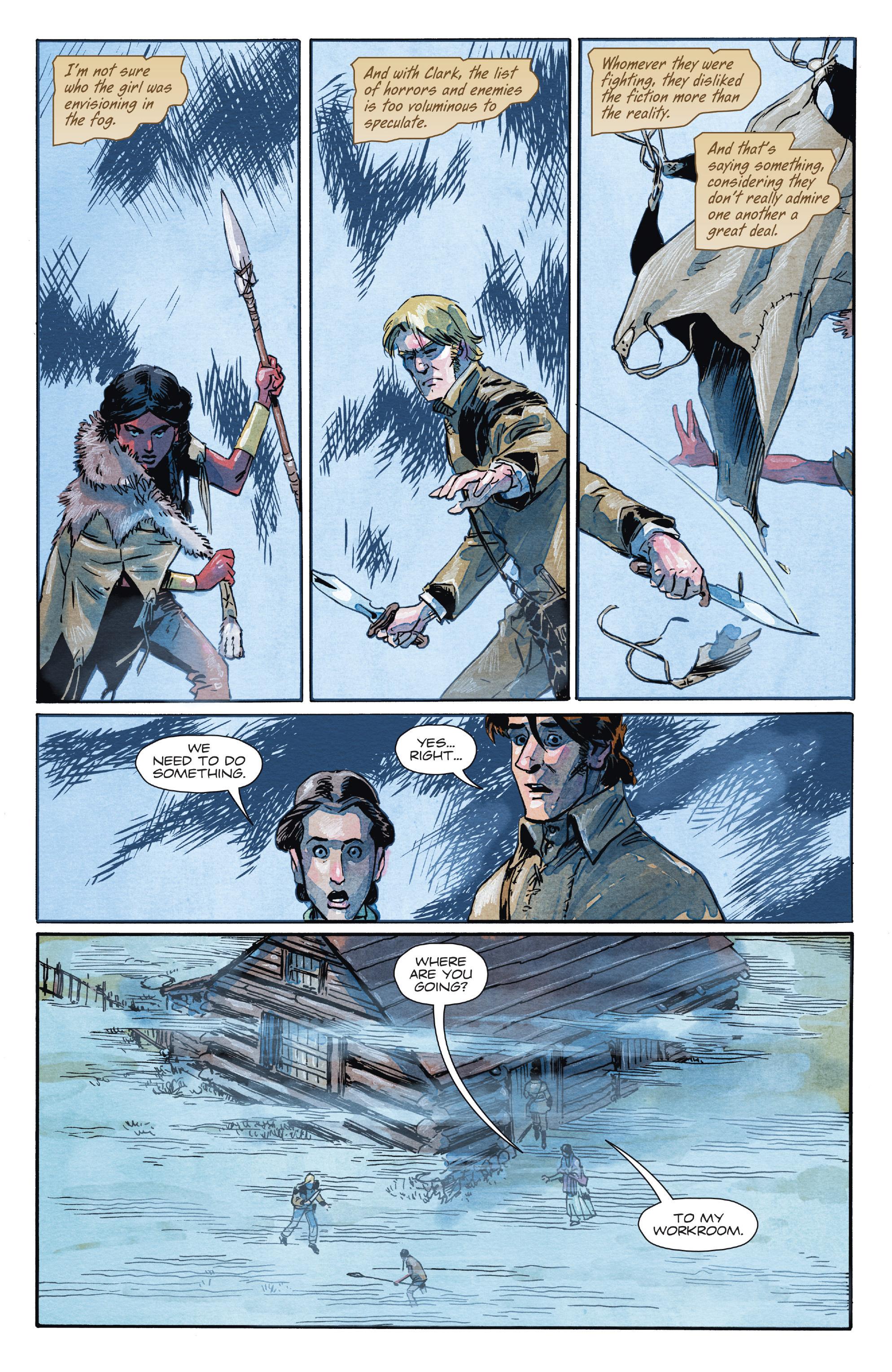 Read online Manifest Destiny comic -  Issue #28 - 5