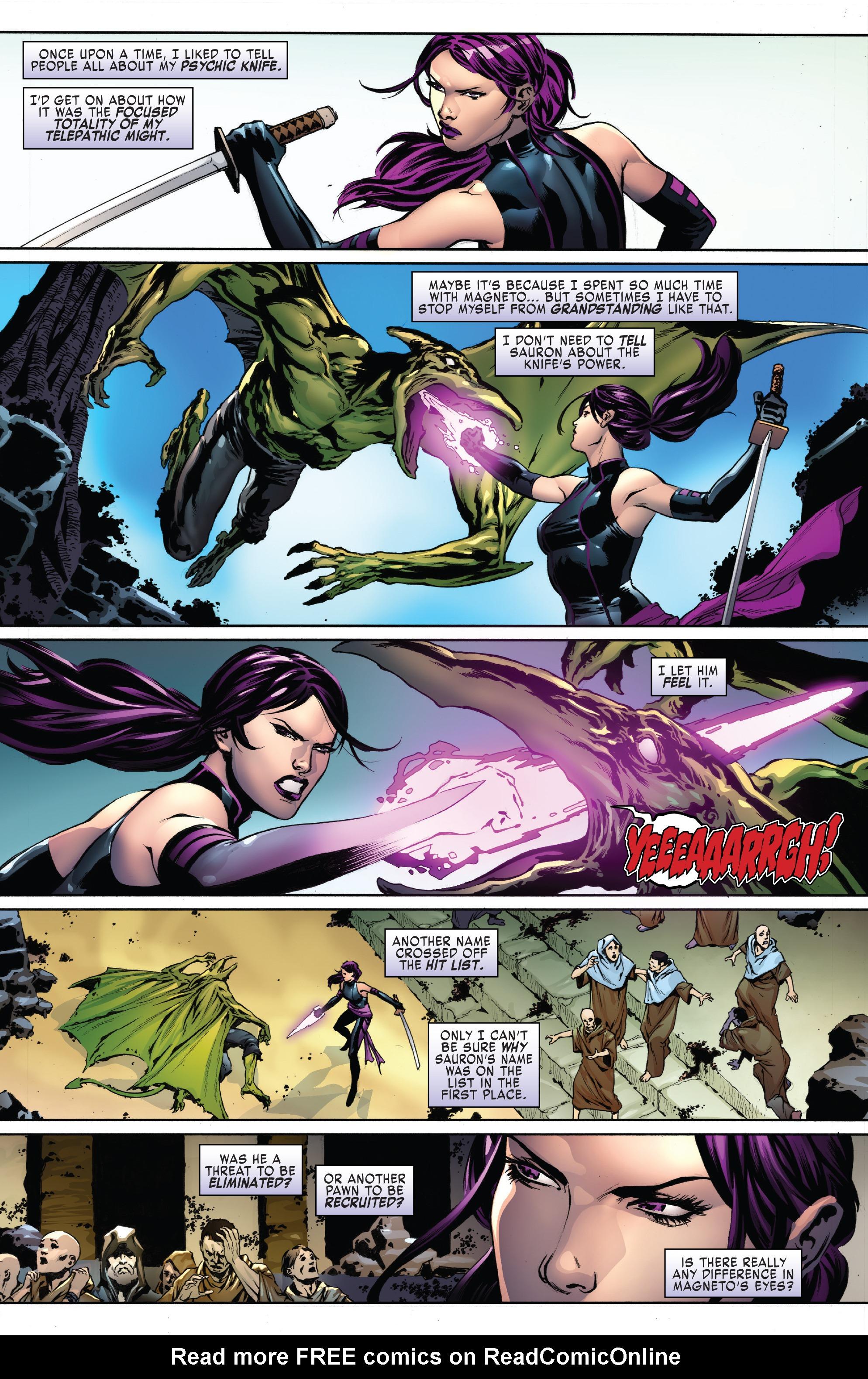 Read online Uncanny X-Men (2016) comic -  Issue #15 - 8