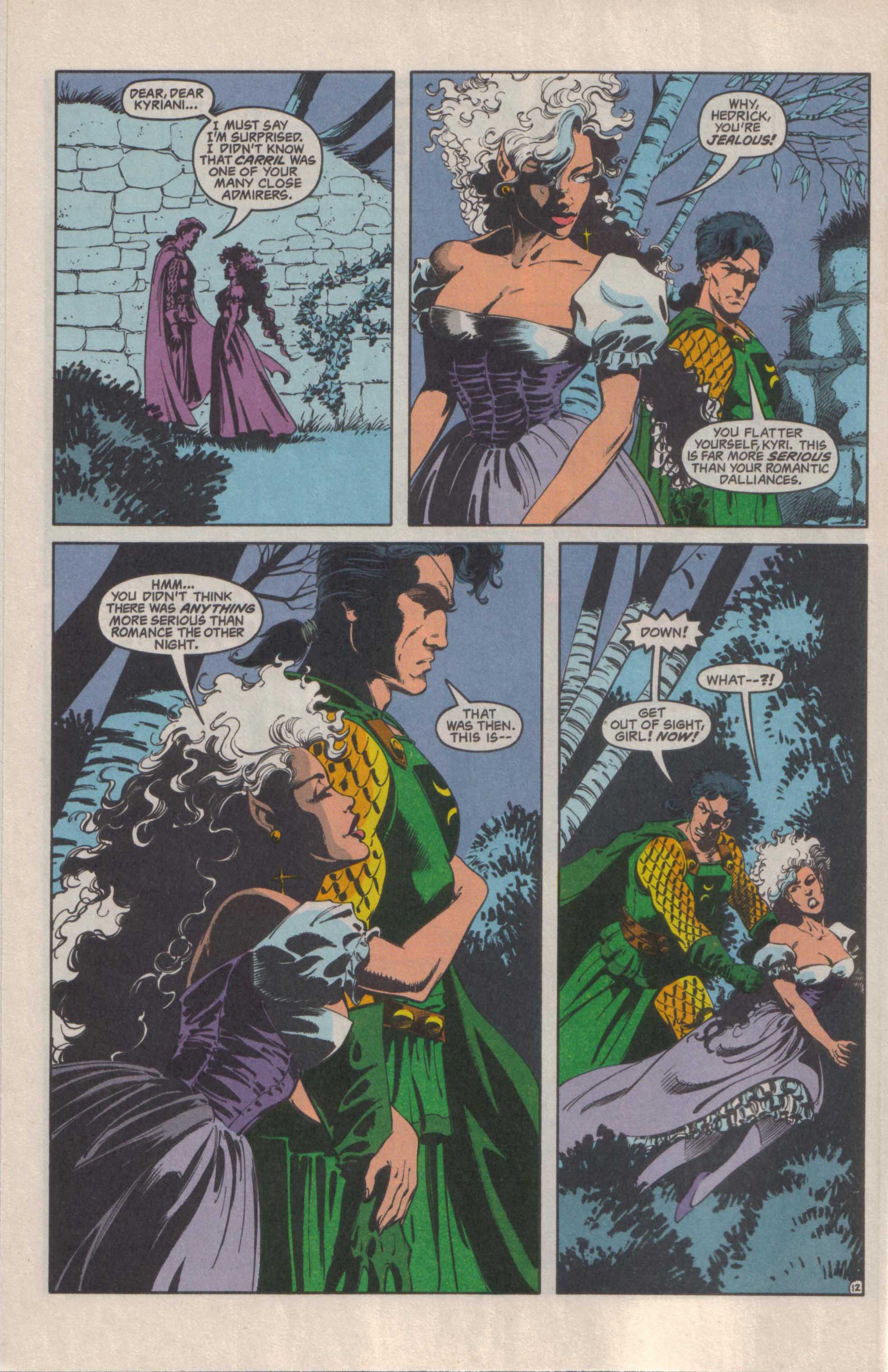 Read online Advanced Dungeons & Dragons comic -  Issue #27 - 13