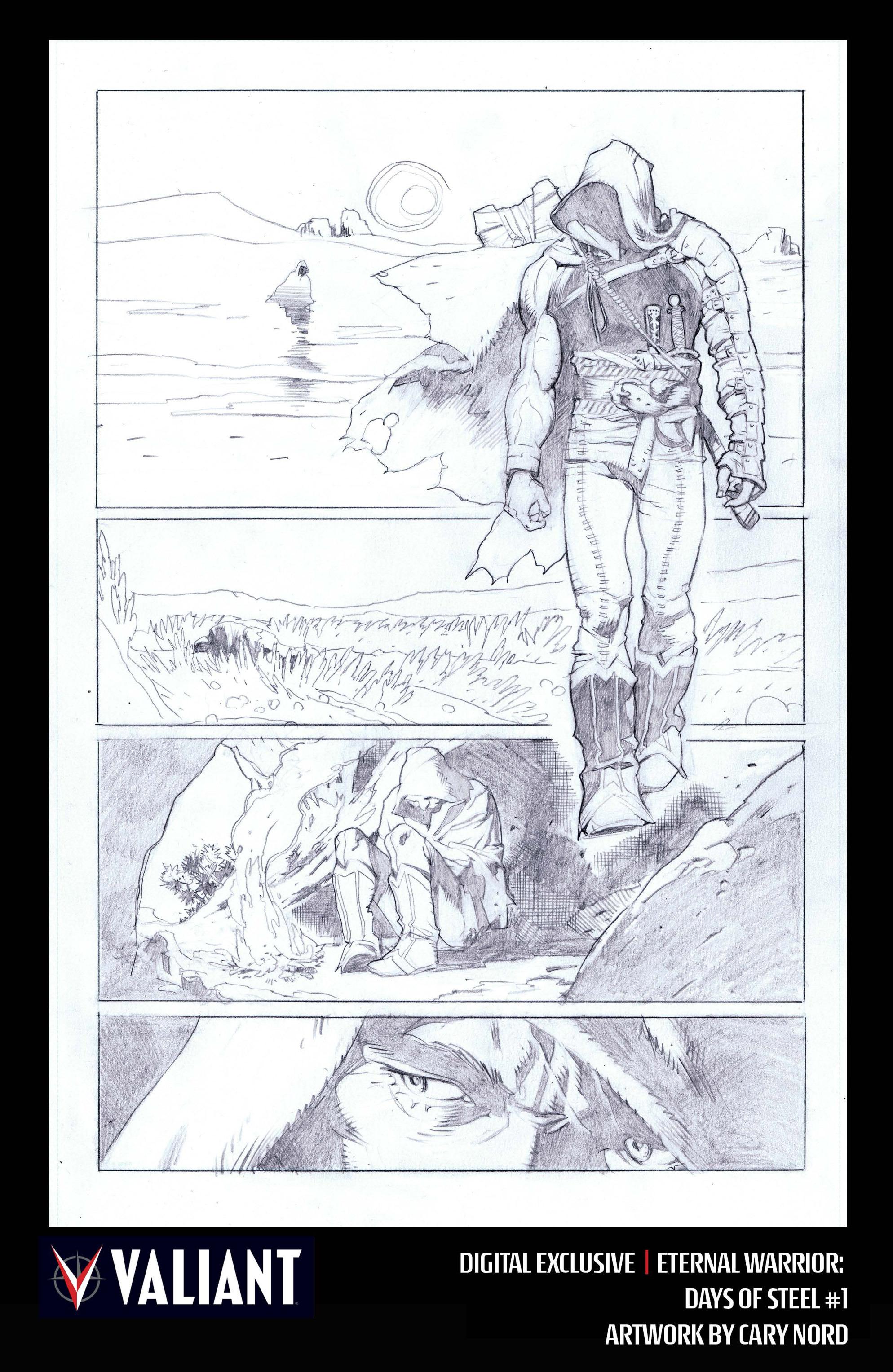Read online Eternal Warrior: Days of Steel comic -  Issue #1 - 30