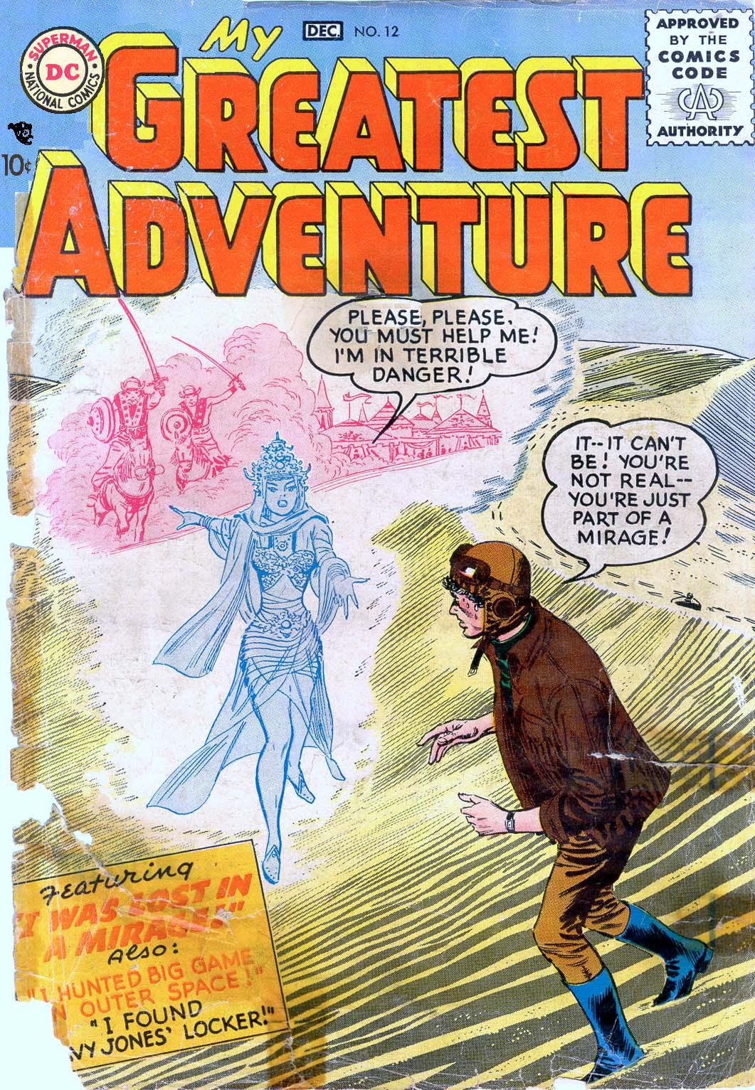 My Greatest Adventure (1955) issue 12 - Page 1