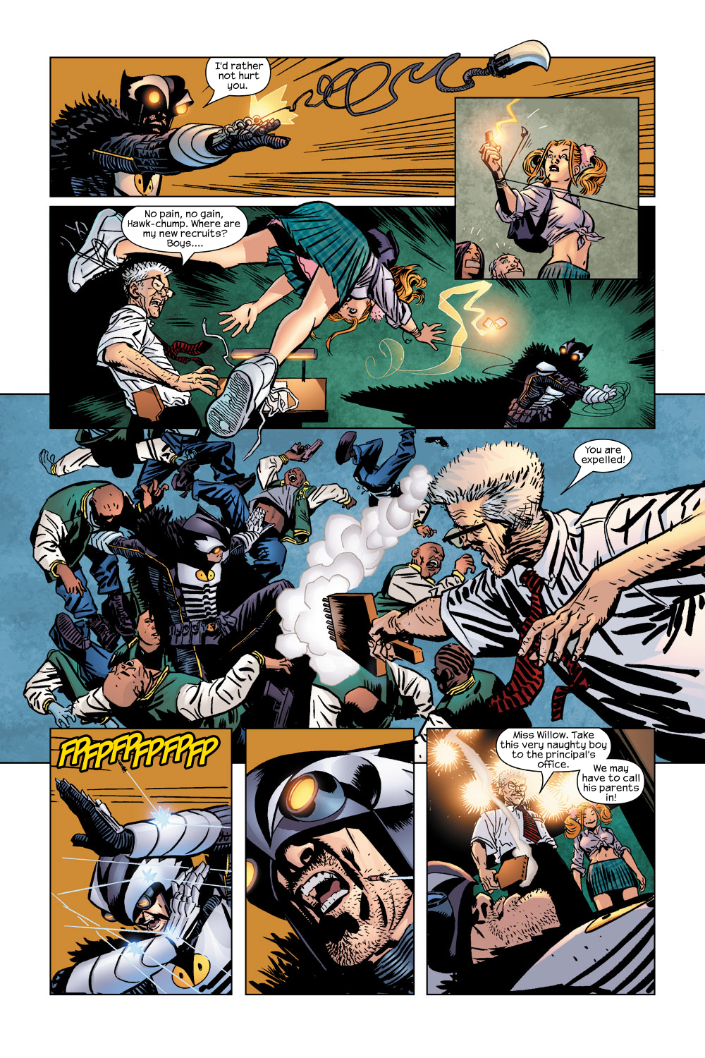 Read online Ultimate Adventures comic -  Issue #5 - 13