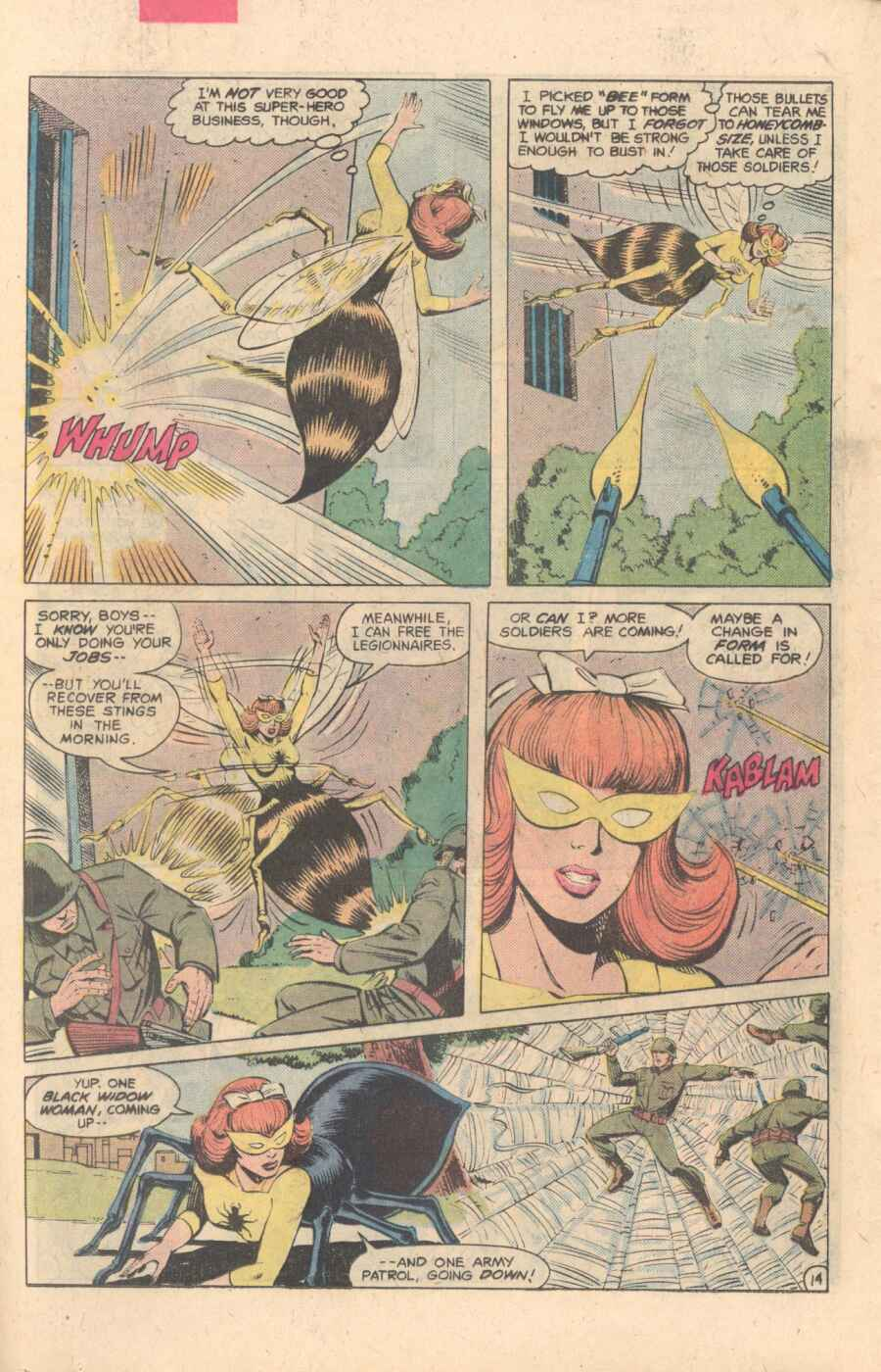 Legion of Super-Heroes (1980) 282 Page 14