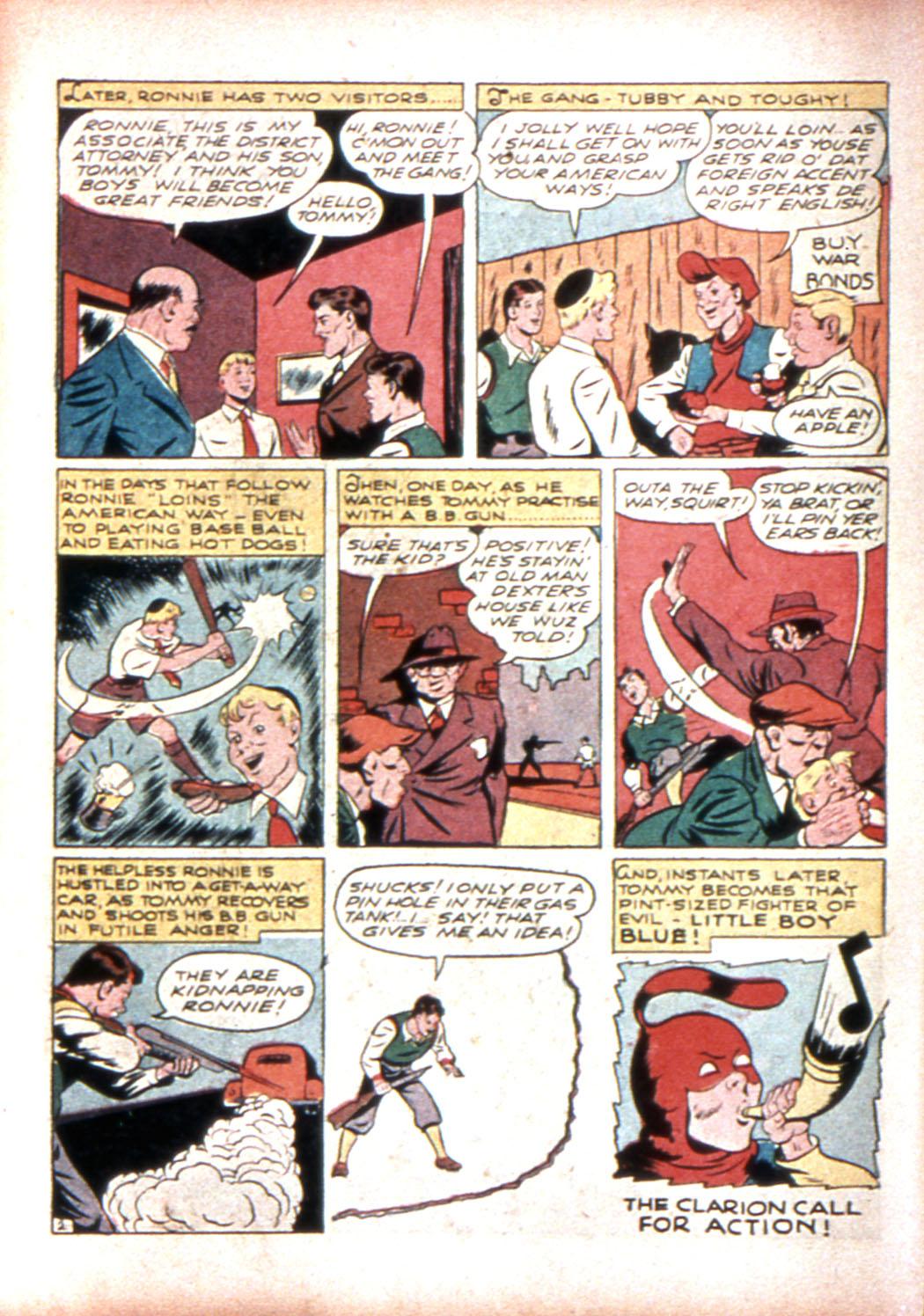 Read online Sensation (Mystery) Comics comic -  Issue #17 - 18