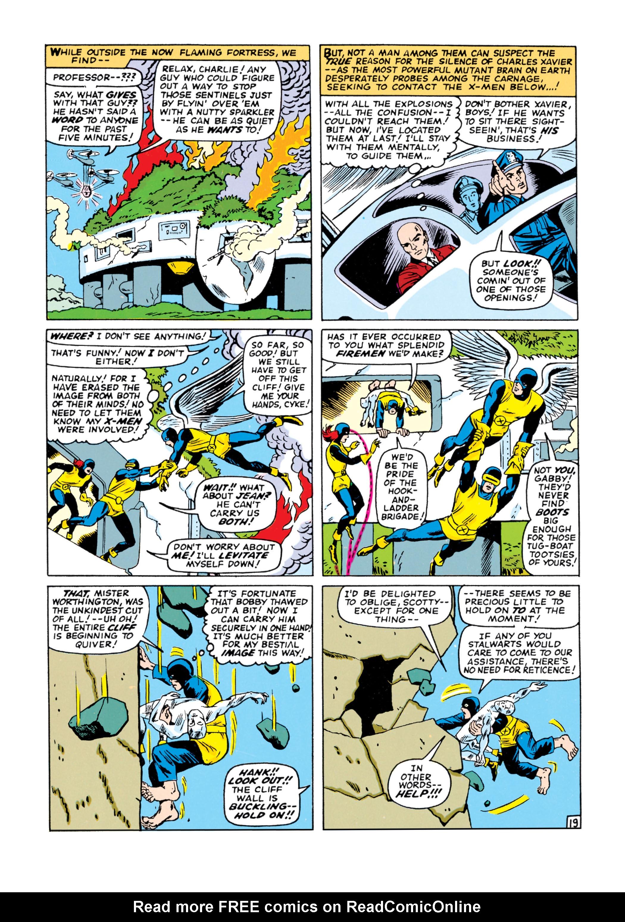 Read online Uncanny X-Men (1963) comic -  Issue #16 - 20