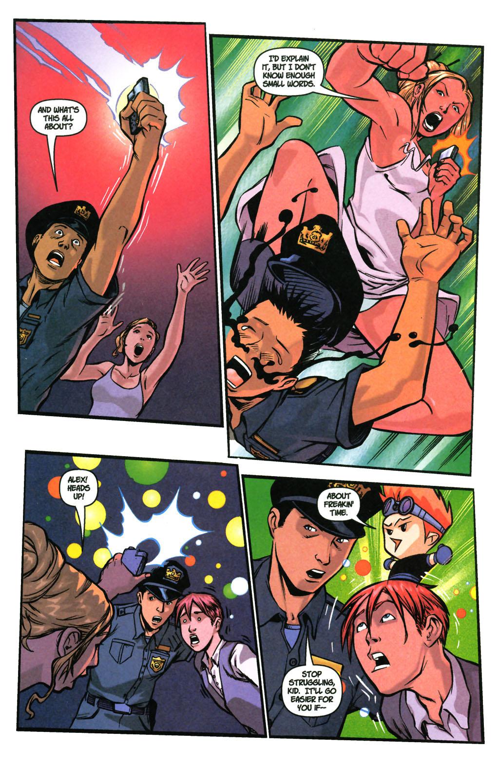 Read online SpyBoy: Final Exam comic -  Issue #3 - 5