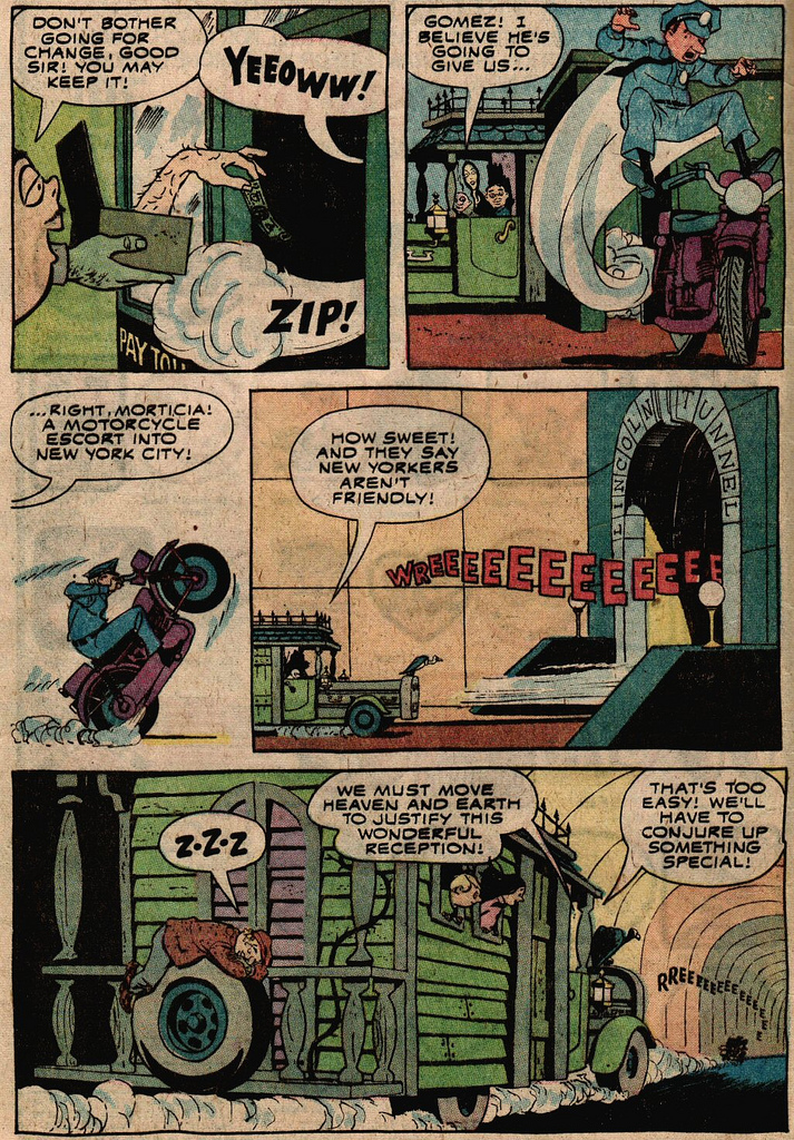 Read online Addams Family comic -  Issue #2 - 23