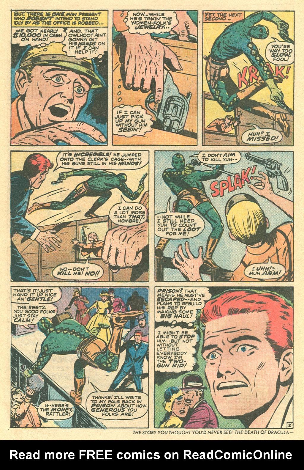 Read online Two-Gun Kid comic -  Issue #113 - 4