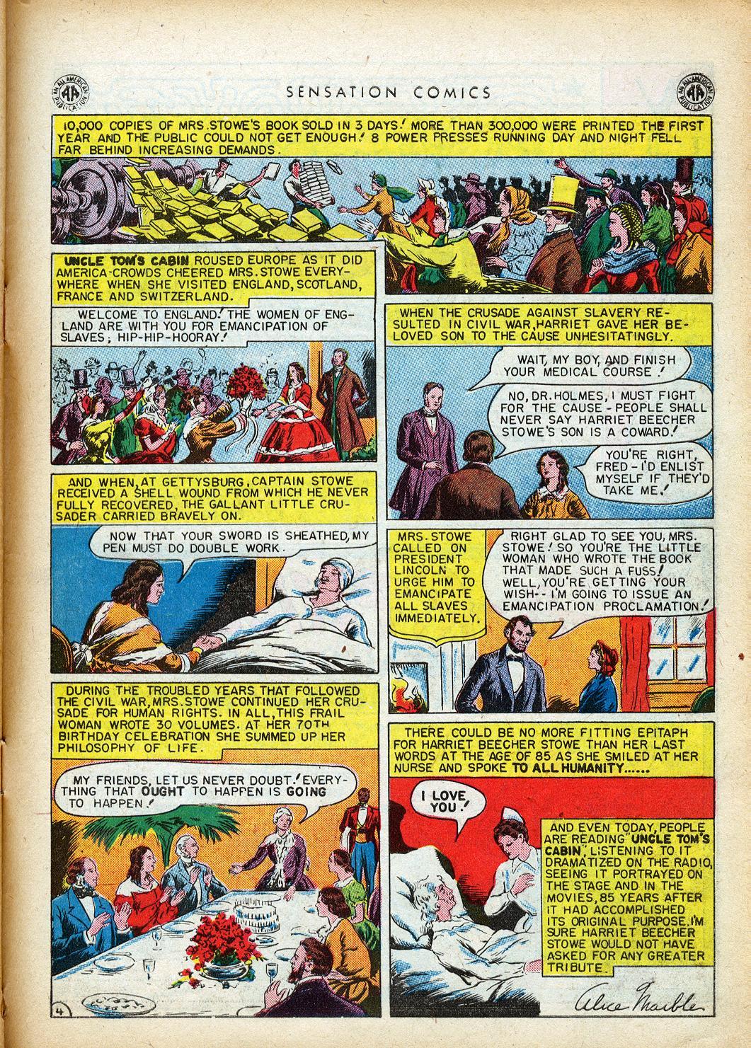 Read online Sensation (Mystery) Comics comic -  Issue #40 - 41
