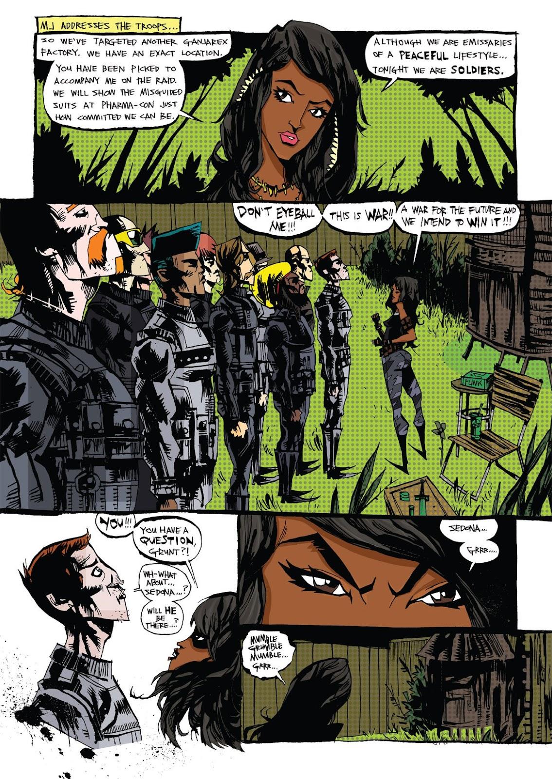 Read online Marijuanaman comic -  Issue # Full - 8