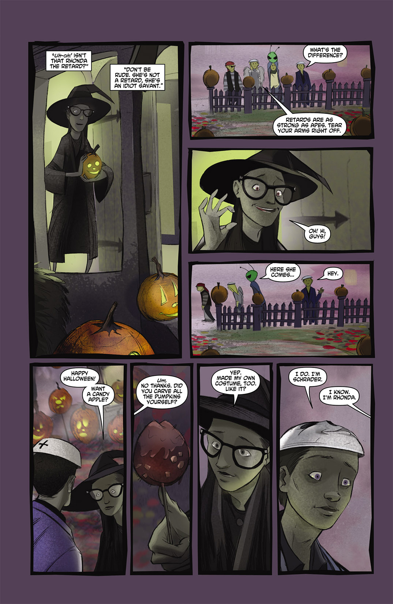 Read online Trick 'r Treat comic -  Issue #2 - 7