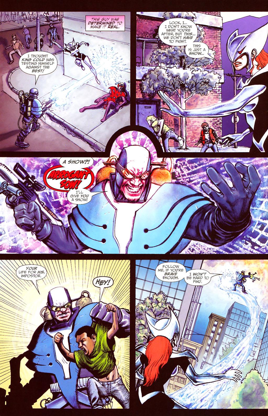 Read online ShadowHawk (2005) comic -  Issue #13 - 23