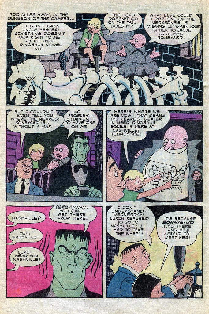 Read online Addams Family comic -  Issue #3 - 35