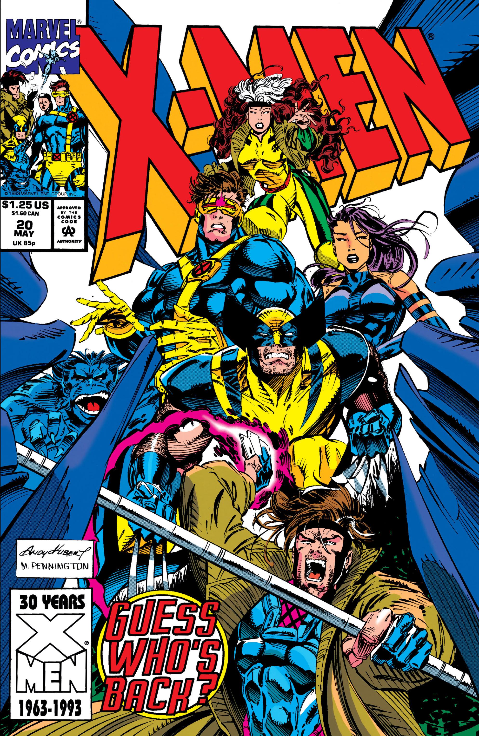 X-Men (1991) 20 Page 0