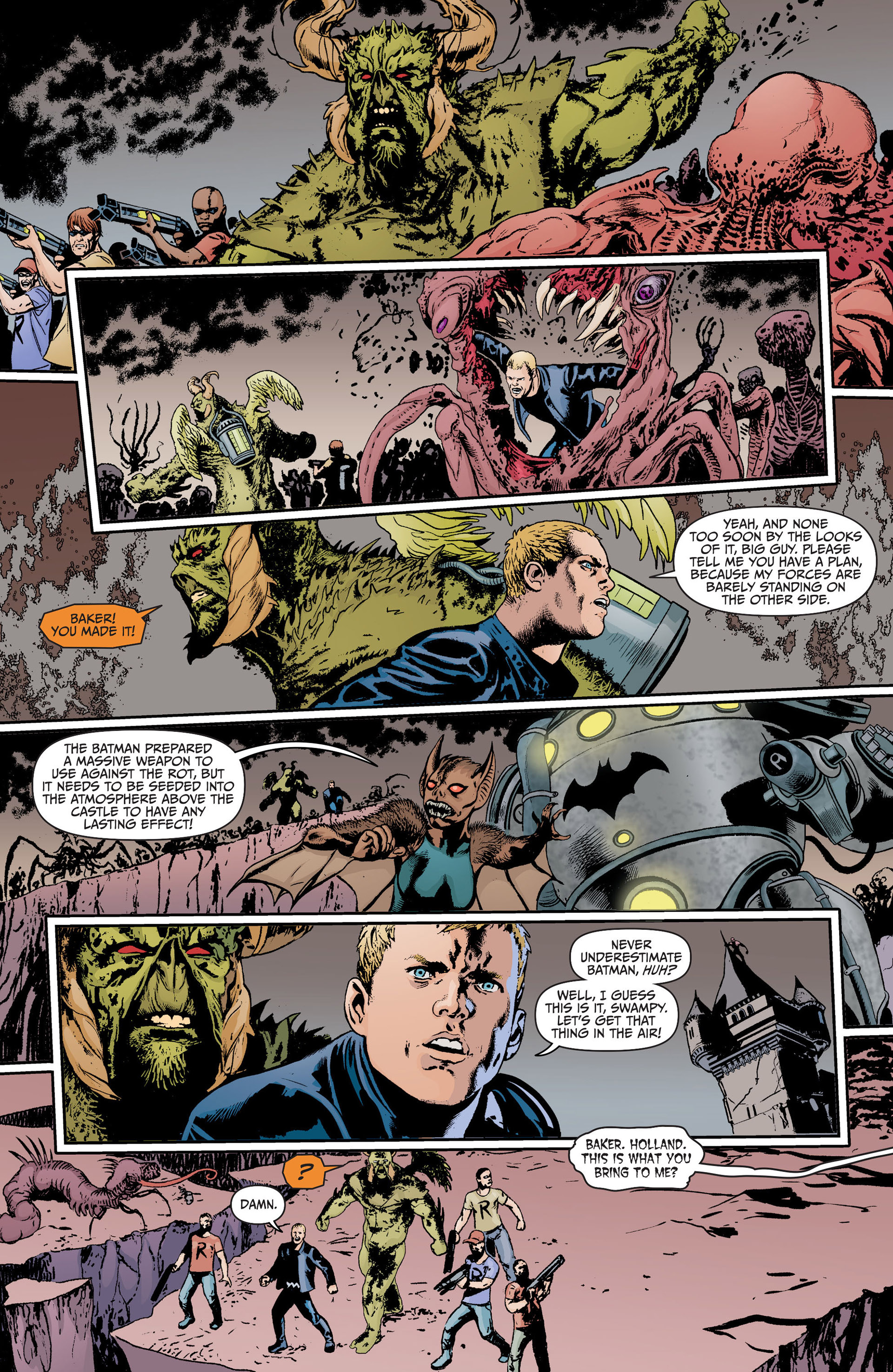 Read online Animal Man (2011) comic -  Issue #17 - 19