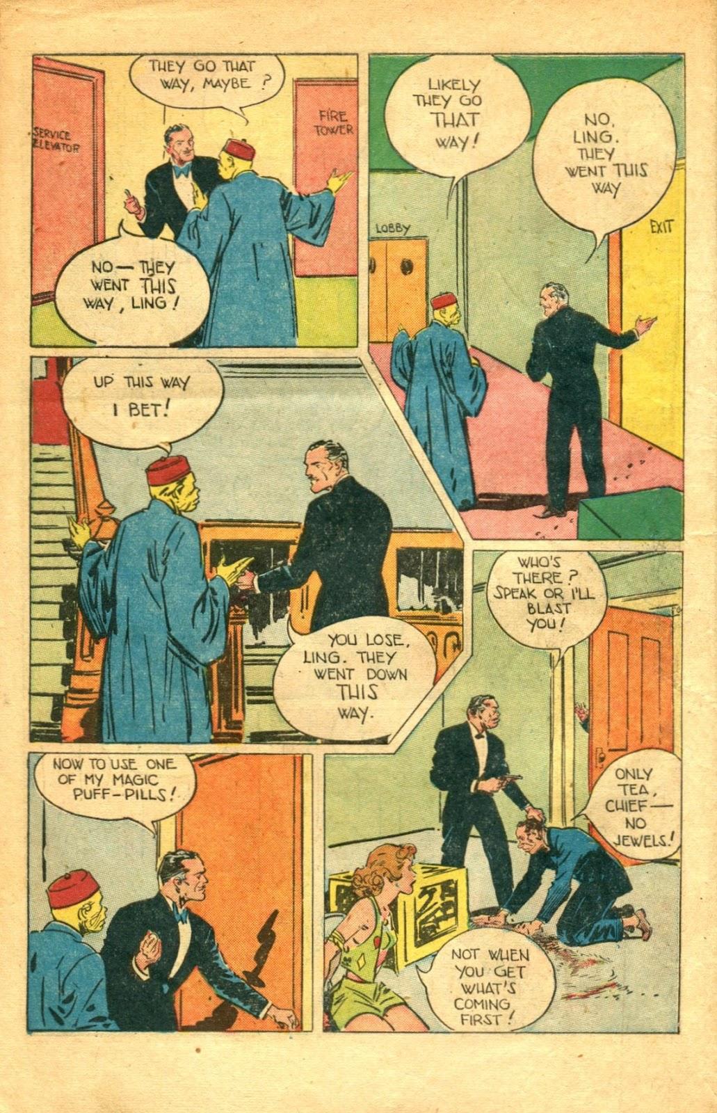 Read online Super-Magician Comics comic -  Issue #48 - 14