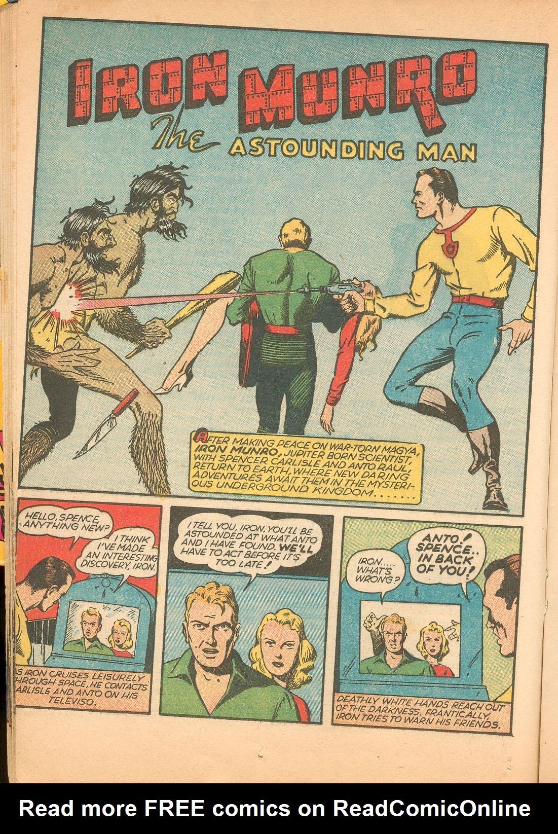 Read online Shadow Comics comic -  Issue #11 - 30