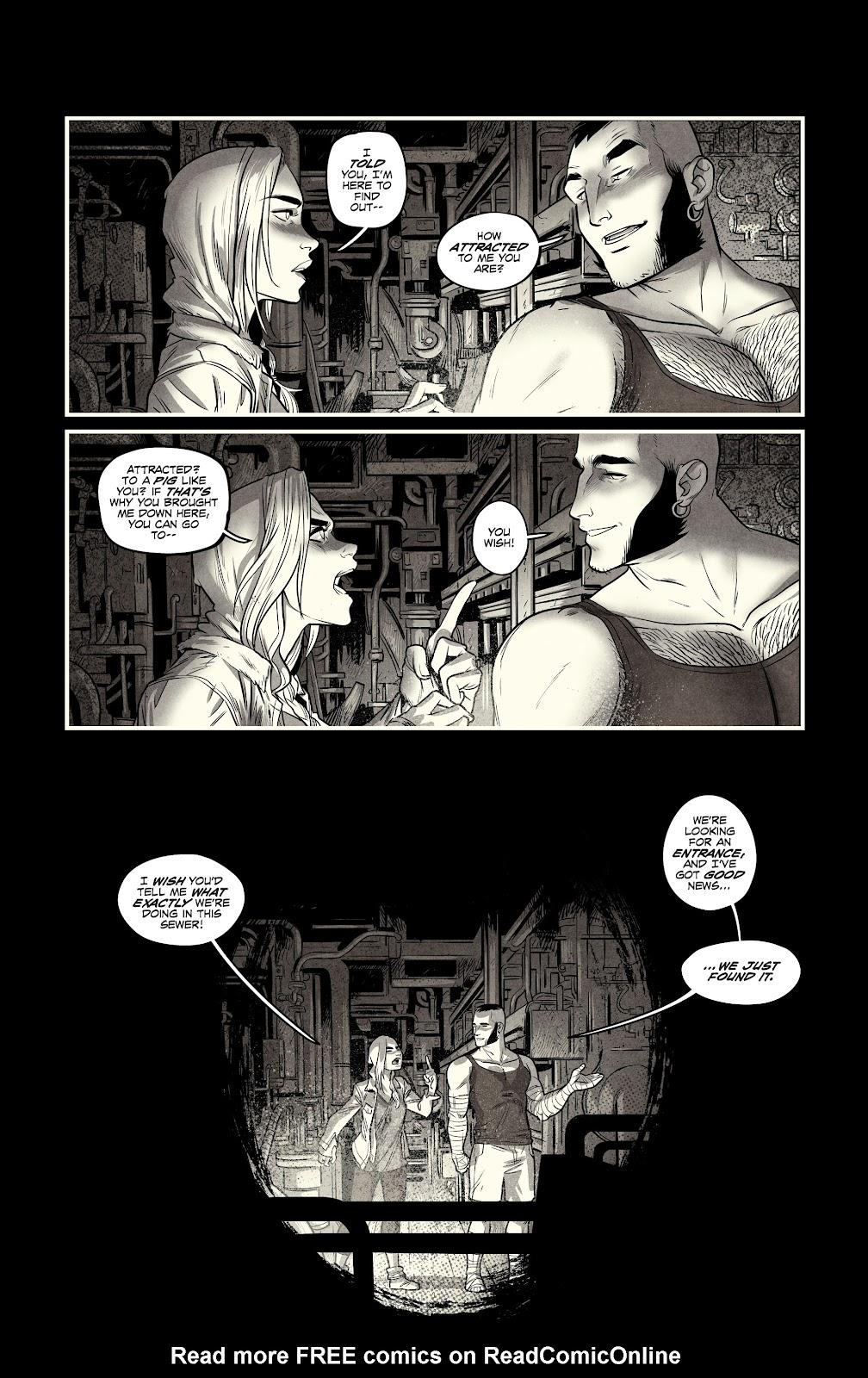 Read online Nomen Omen comic -  Issue #3 - 16