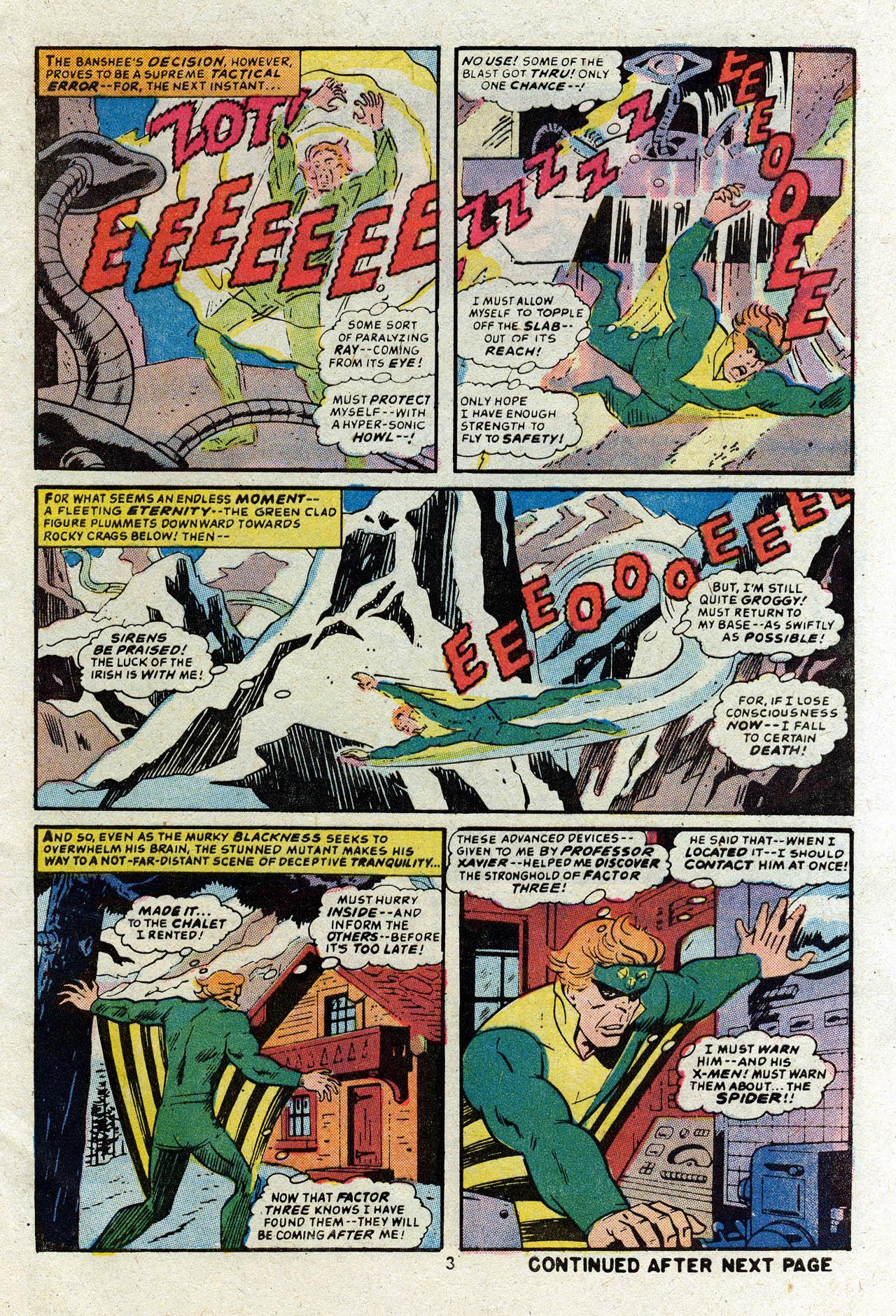 Read online Uncanny X-Men (1963) comic -  Issue #83 - 5