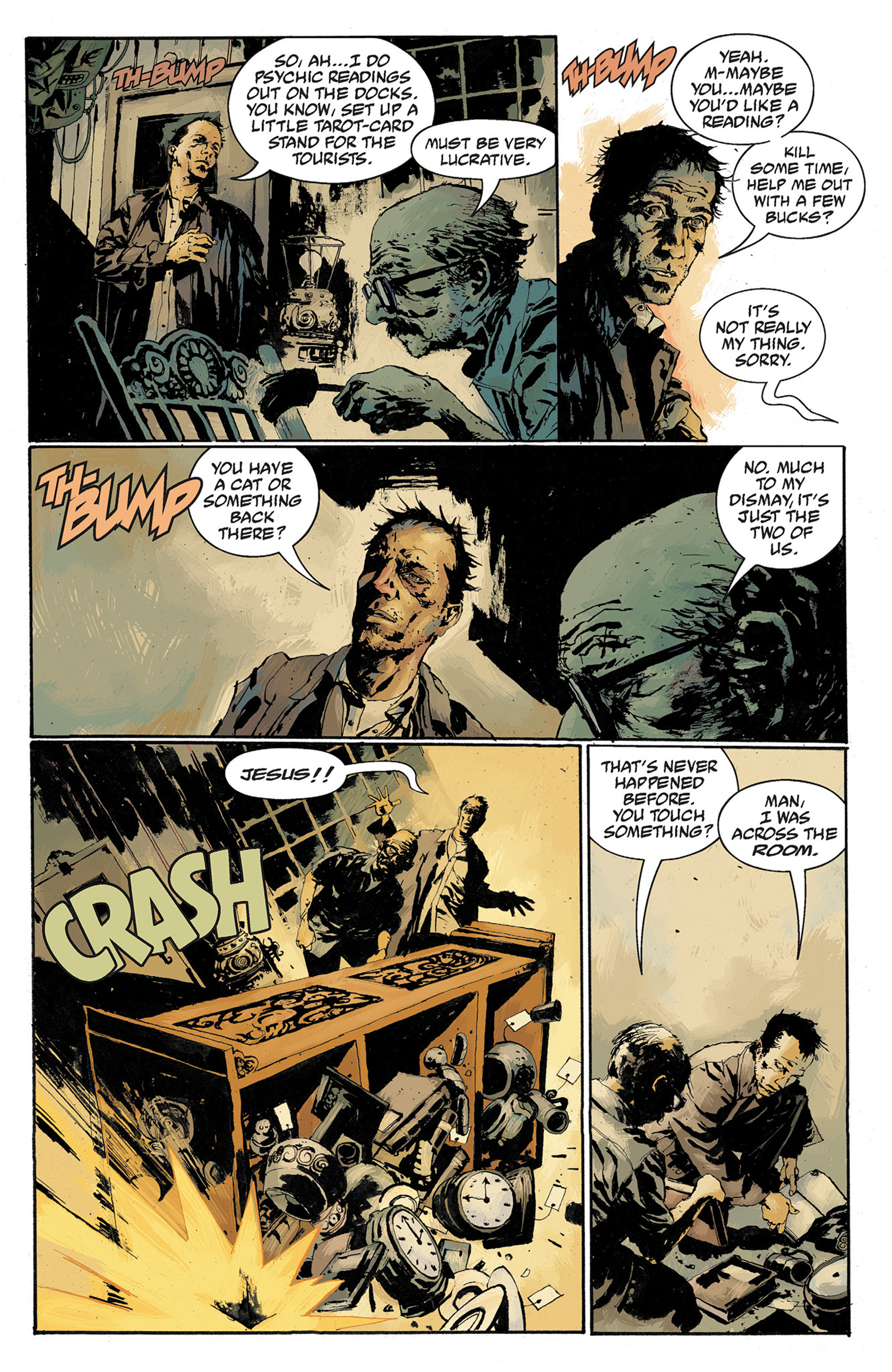 Read online Hellboy: The Crooked Man and Others comic -  Issue # TPB - 85