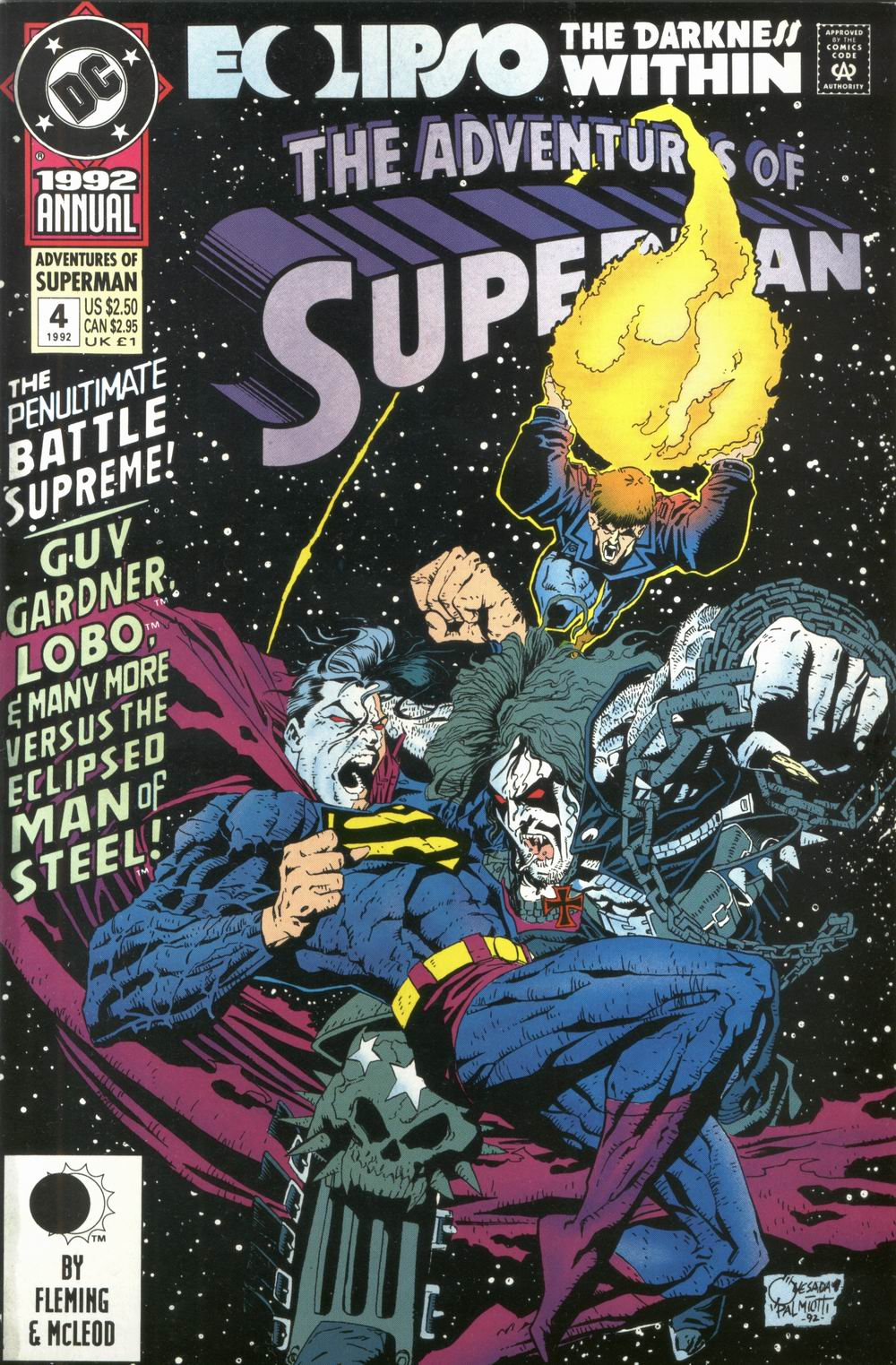 Adventures of Superman (1987) issue _Annual_4 - Page 1