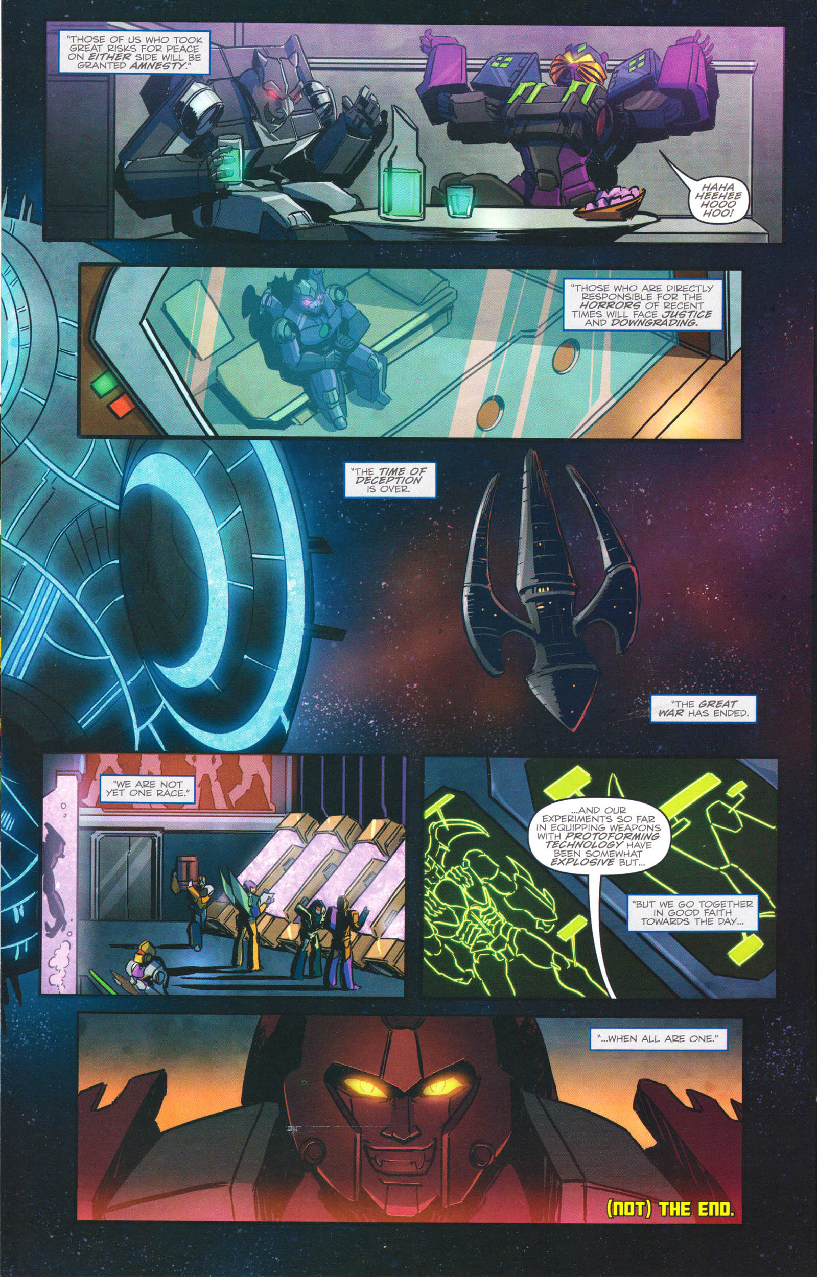 Read online Transformers: Dawn of the Predacus comic -  Issue # Full - 23
