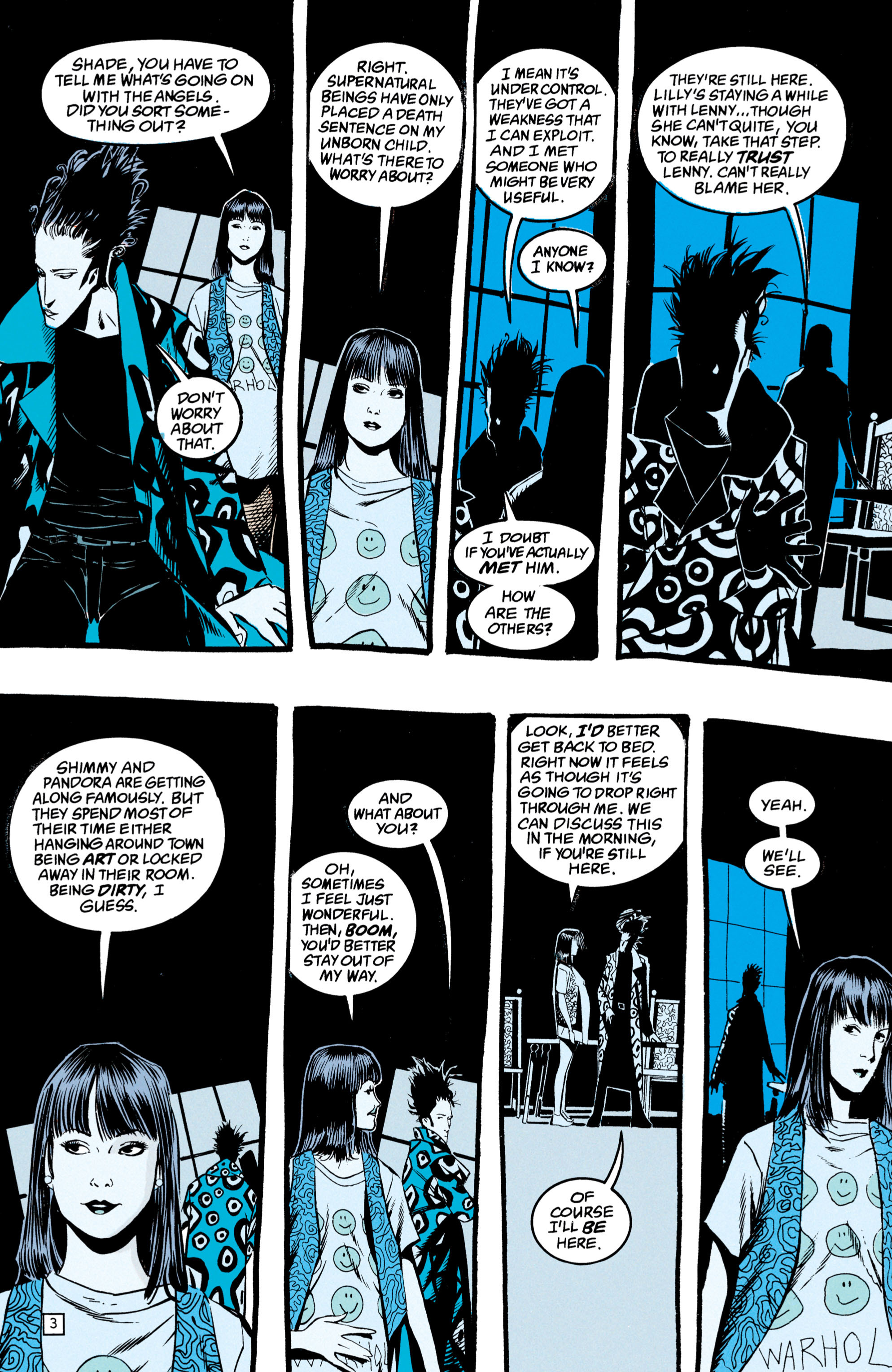Read online Shade, the Changing Man comic -  Issue #49 - 4