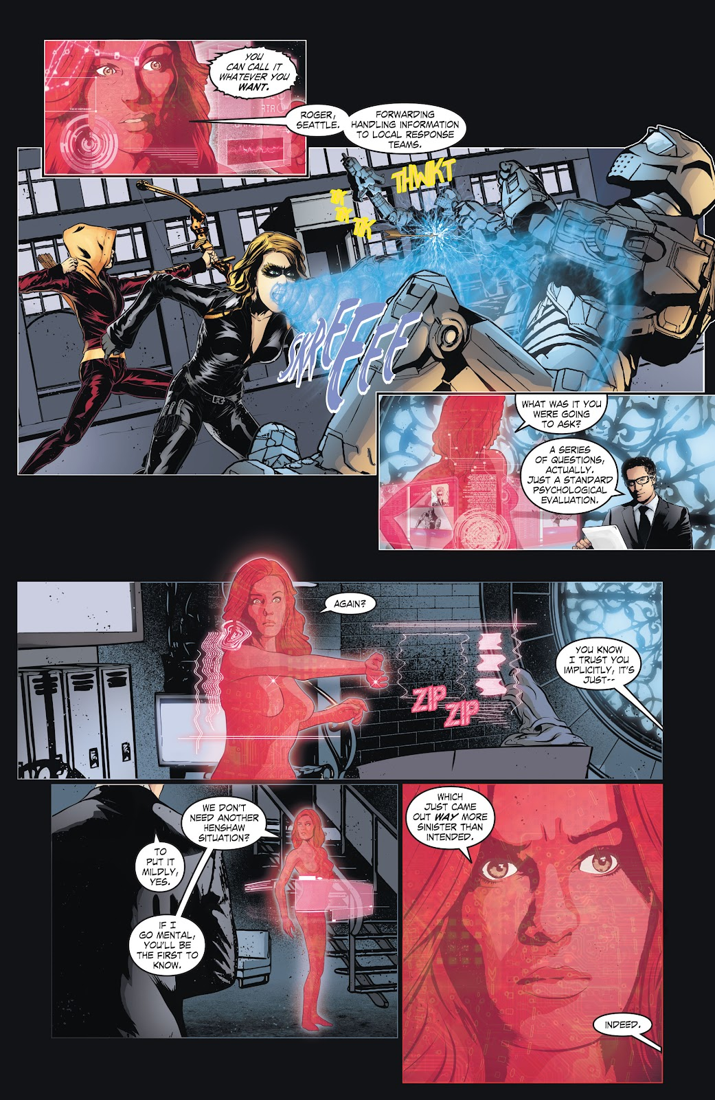 Read online Smallville Season 11 [II] comic -  Issue # TPB 6 - 10