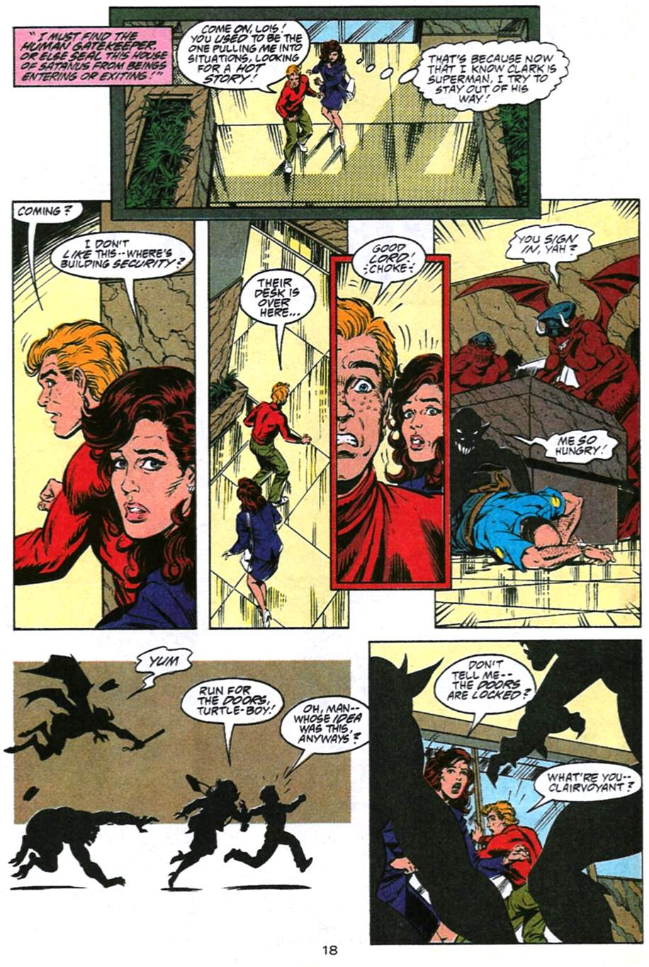 Read online Adventures of Superman (1987) comic -  Issue #493 - 19