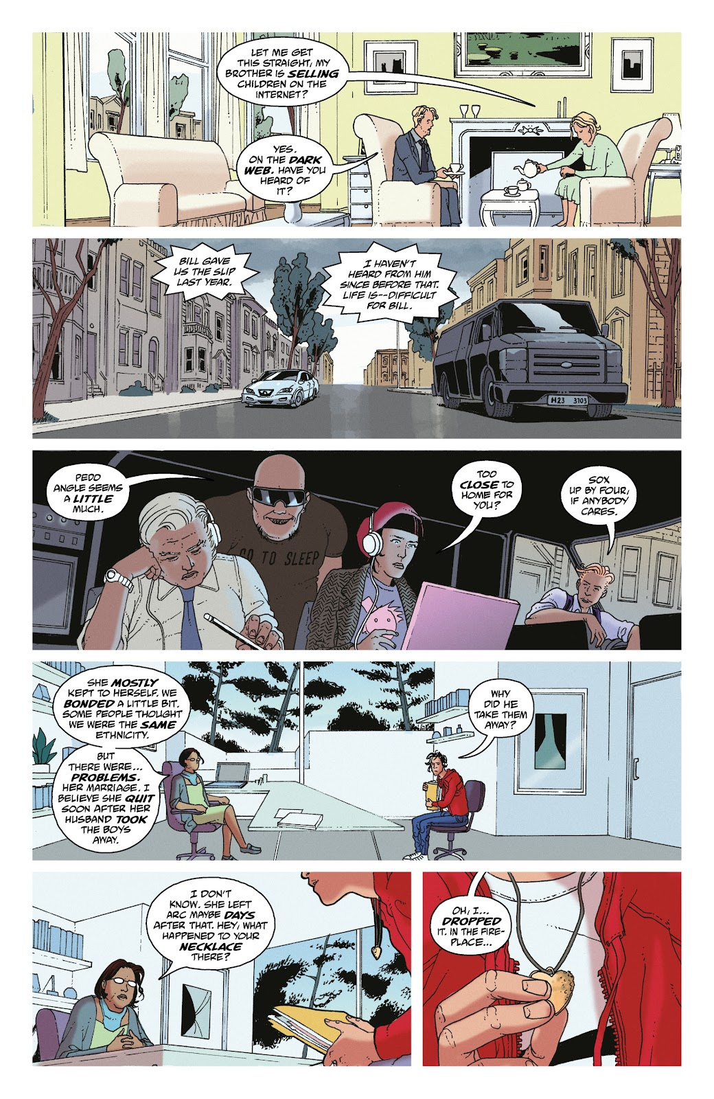 Read online She Could Fly comic -  Issue # _TPB - 62