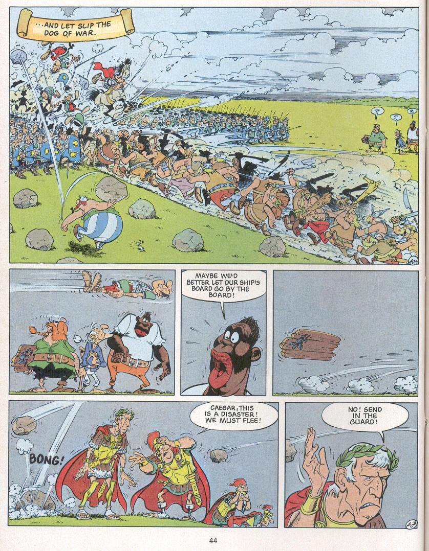 Read online Asterix comic -  Issue #24 - 41