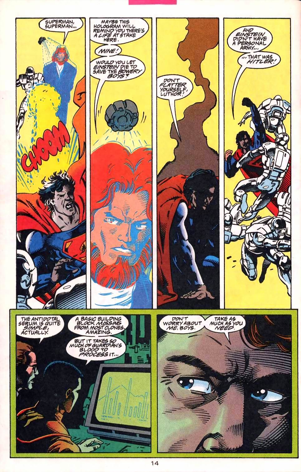 Read online Adventures of Superman (1987) comic -  Issue #513 - 15