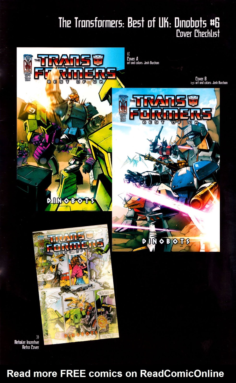 Read online The Transformers: Best of UK: Dinobots comic -  Issue #6 - 36