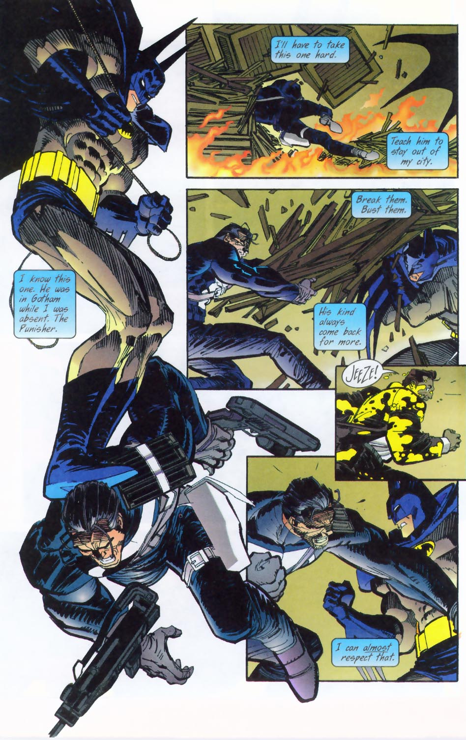 Read online Punisher/Batman: Deadly Knights comic -  Issue # Full - 11