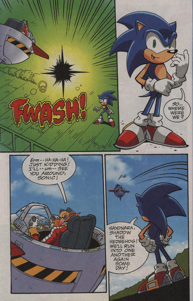 Read online Sonic X comic -  Issue #40 - 26