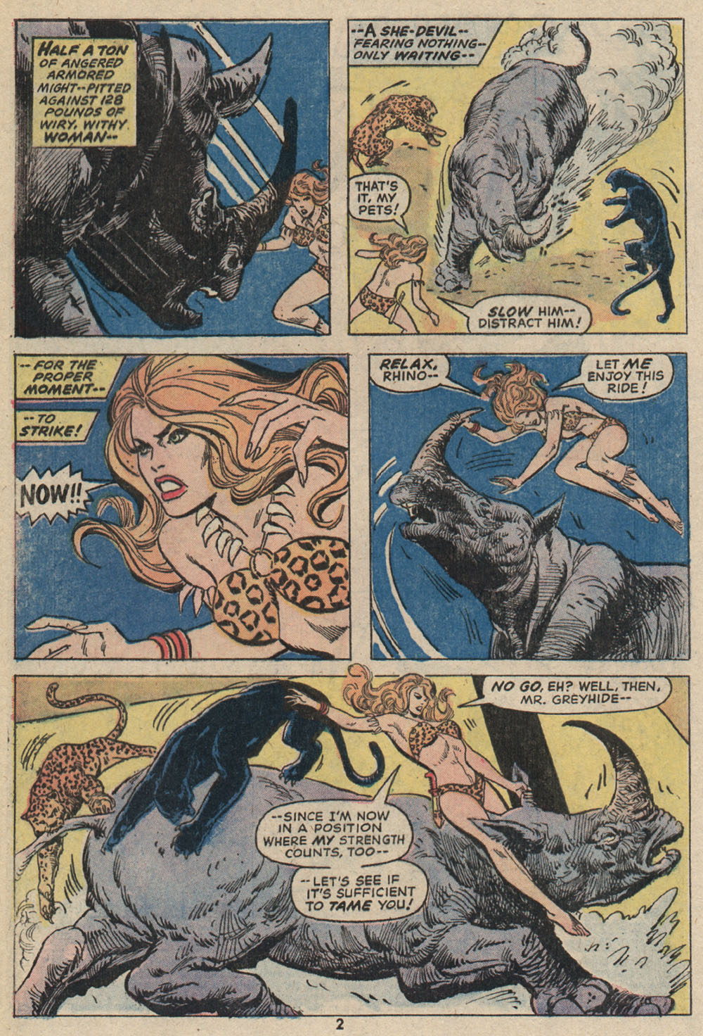 Read online Shanna, the She-Devil (1972) comic -  Issue #4 - 3