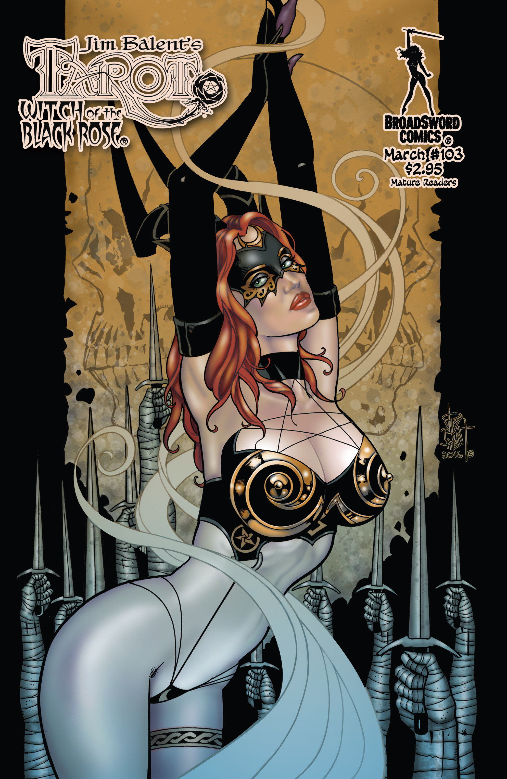 Read online Tarot: Witch of the Black Rose comic -  Issue #103 - 1