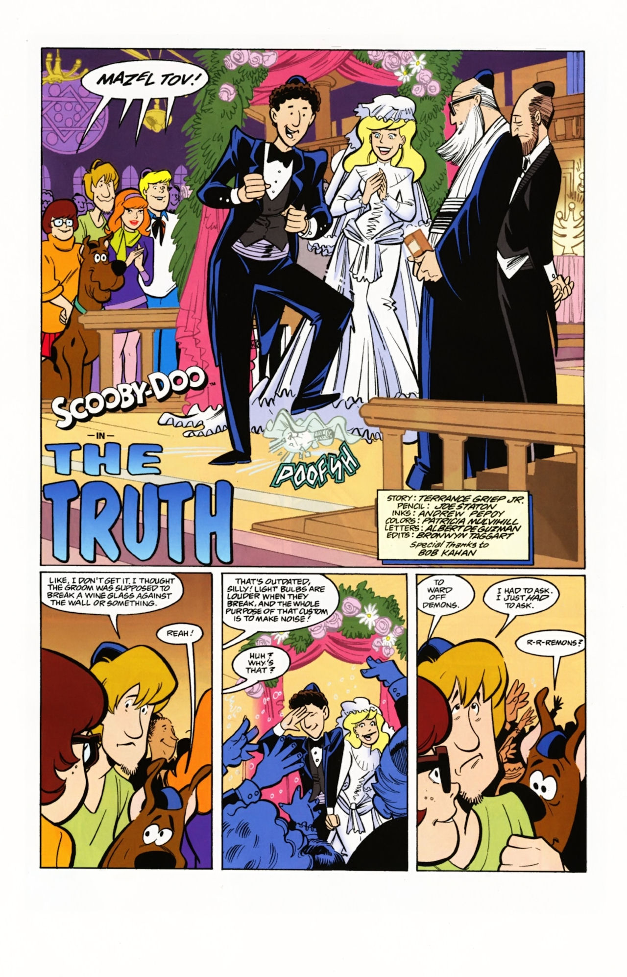 Read online Scooby-Doo: Where Are You? comic -  Issue #4 - 13