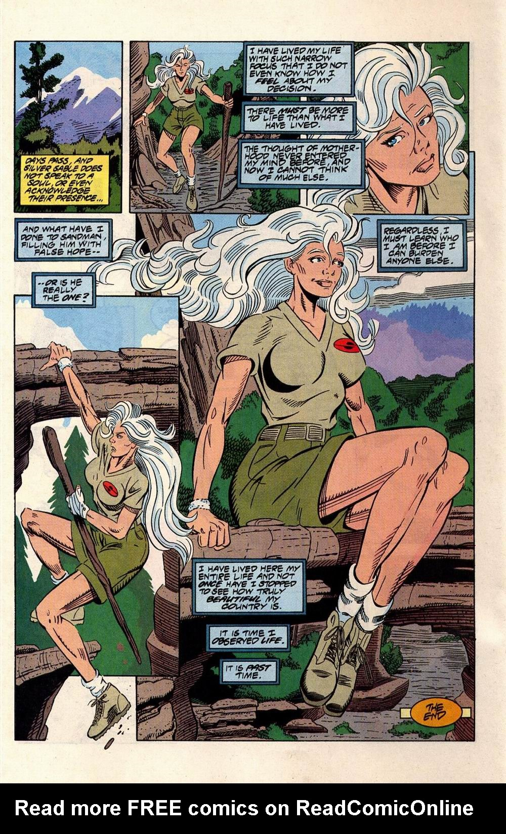 Read online Silver Sable and the Wild Pack comic -  Issue #33 - 23