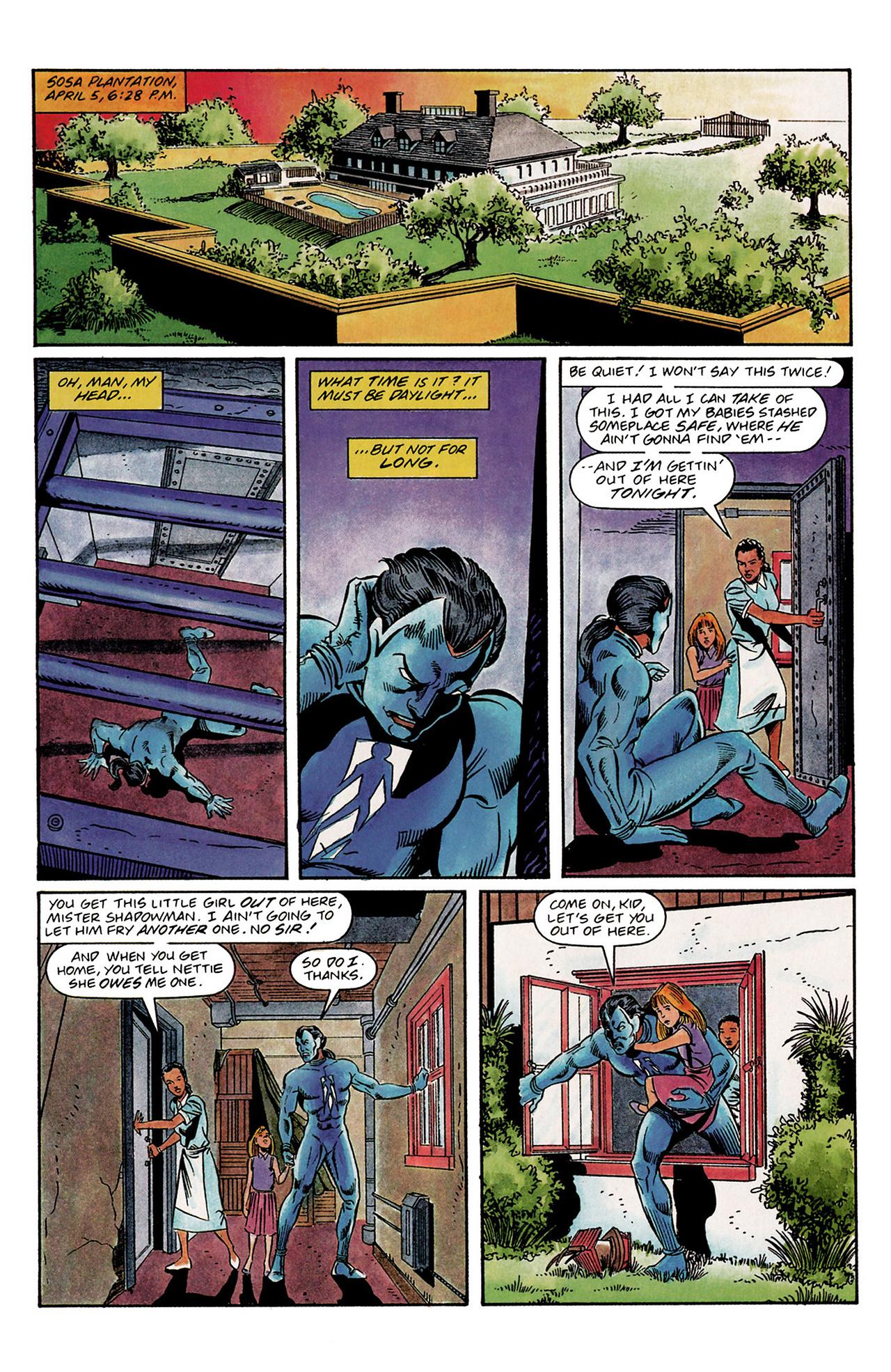 Read online Shadowman (1992) comic -  Issue #3 - 18