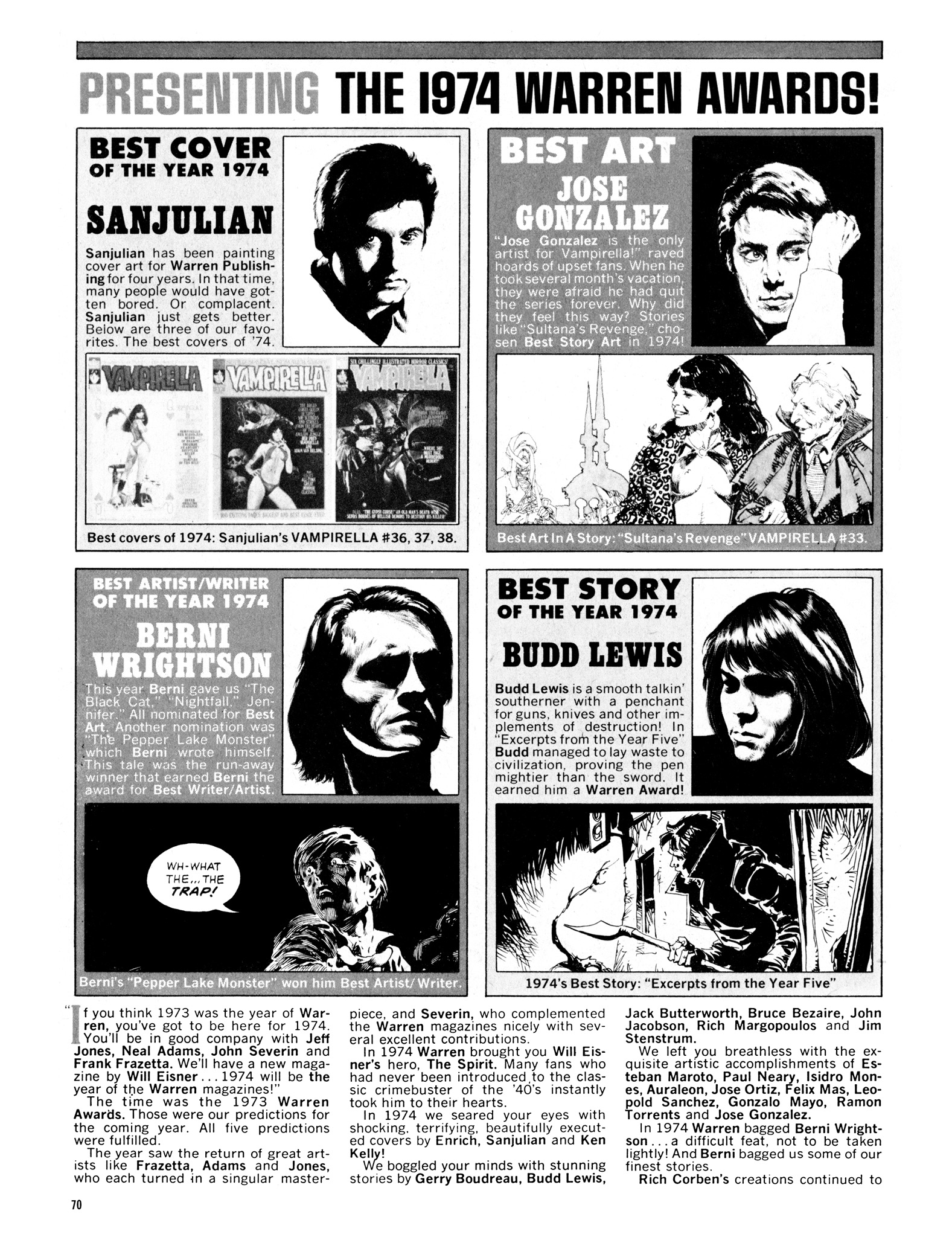Read online Eerie Archives comic -  Issue # TPB 14 - 71