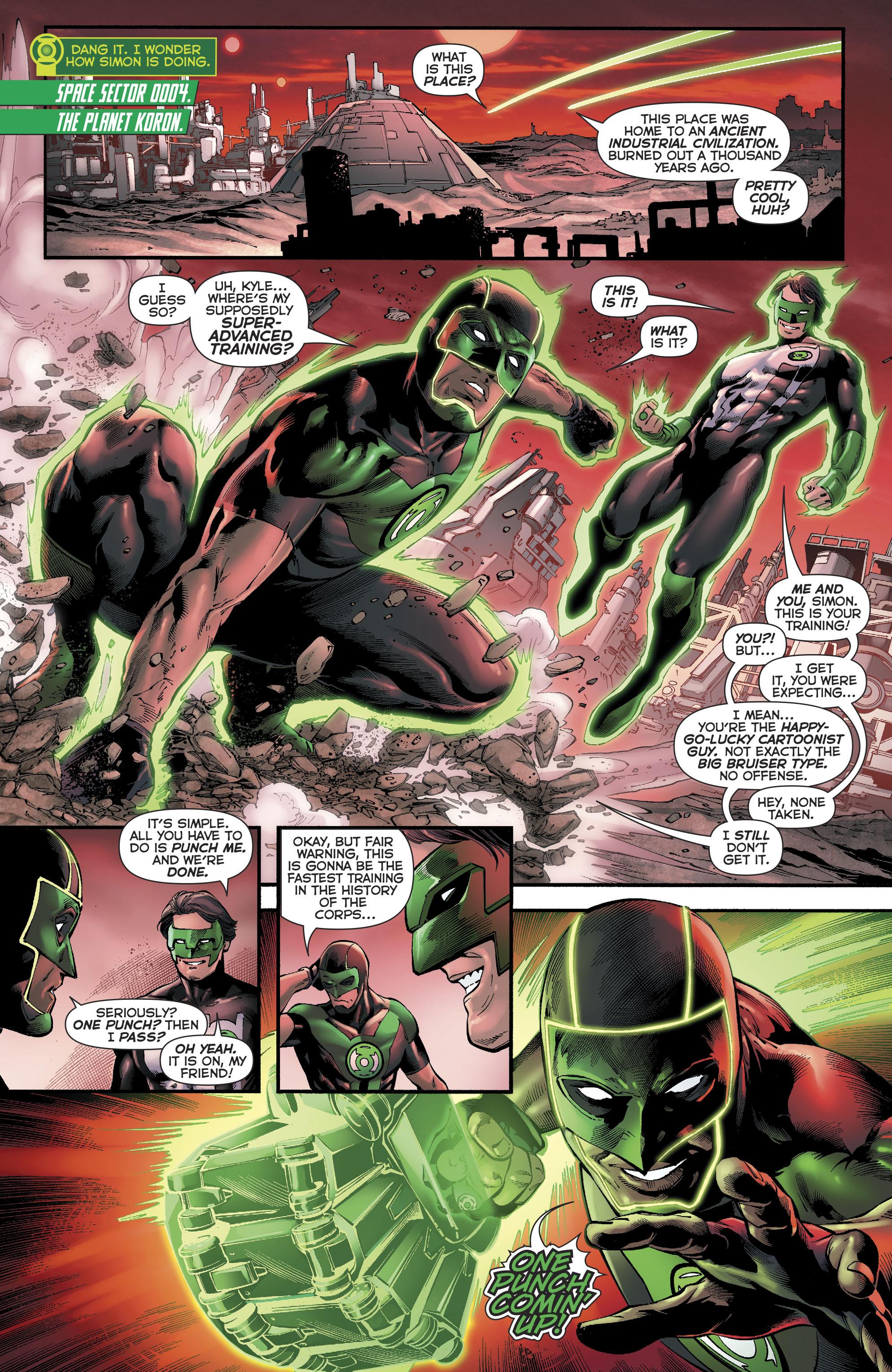 Read online Green Lanterns comic -  Issue #23 - 7