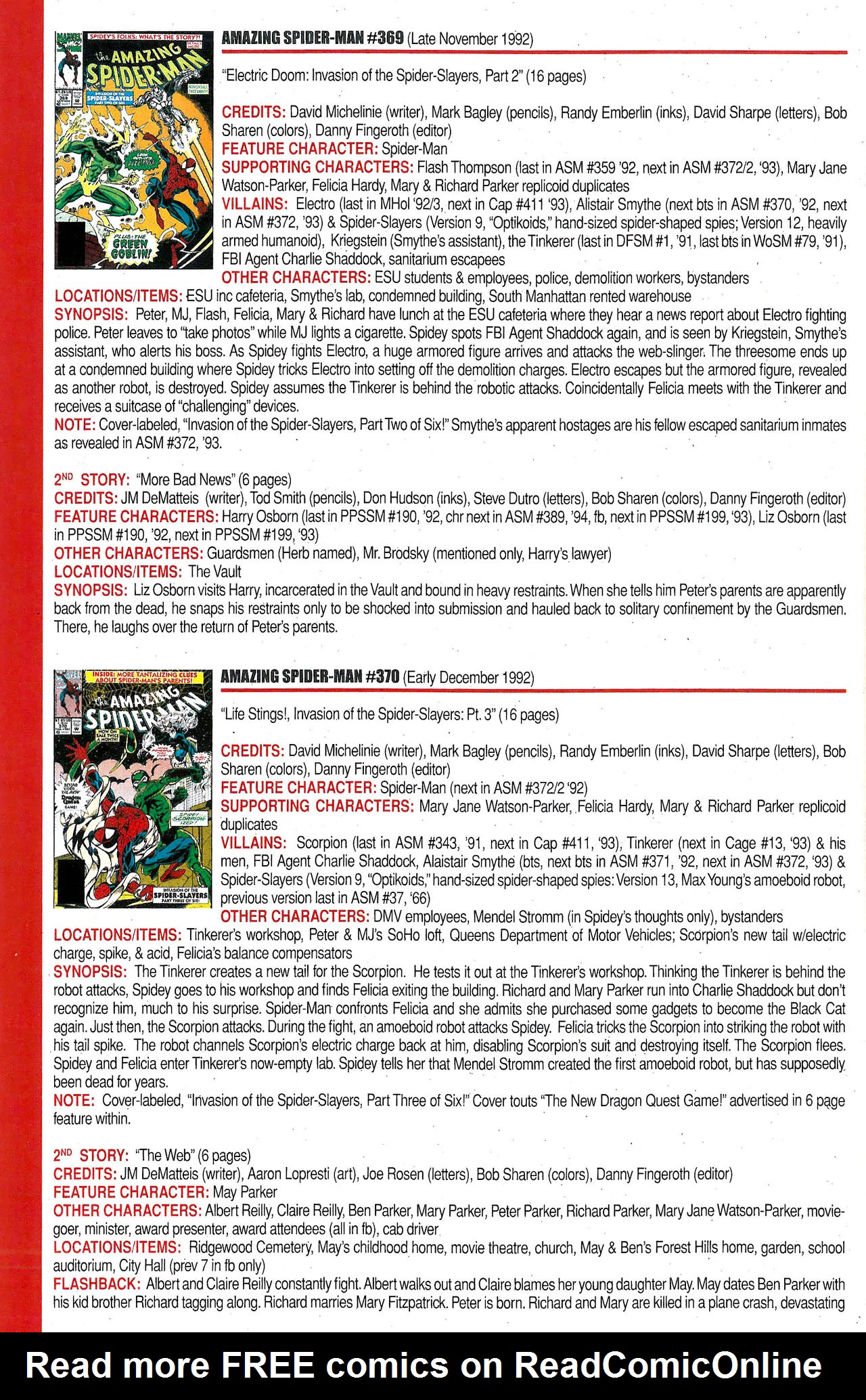 Read online Official Index to the Marvel Universe comic -  Issue #9 - 4
