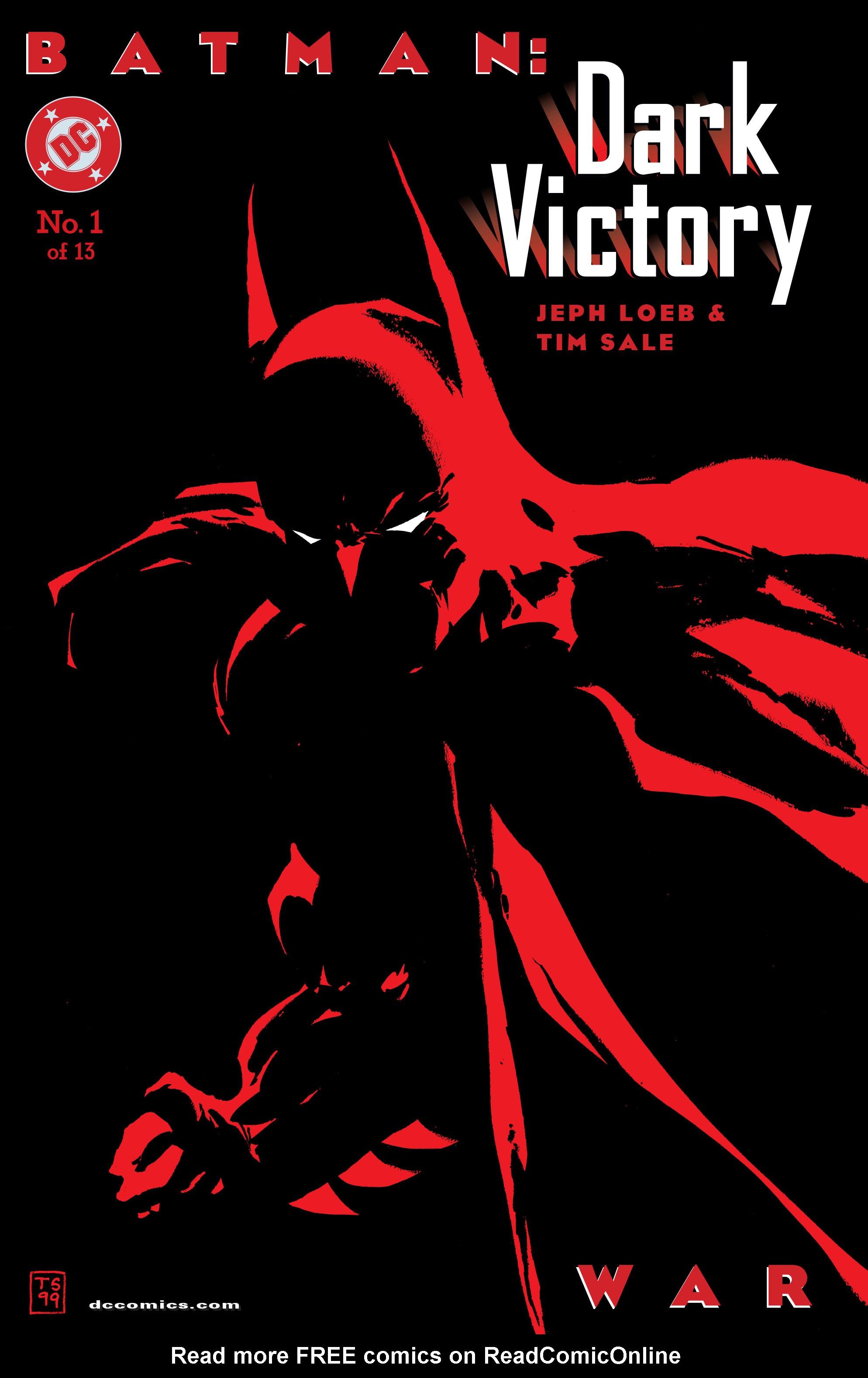 Batman: Dark Victory (1999) 1 Page 1