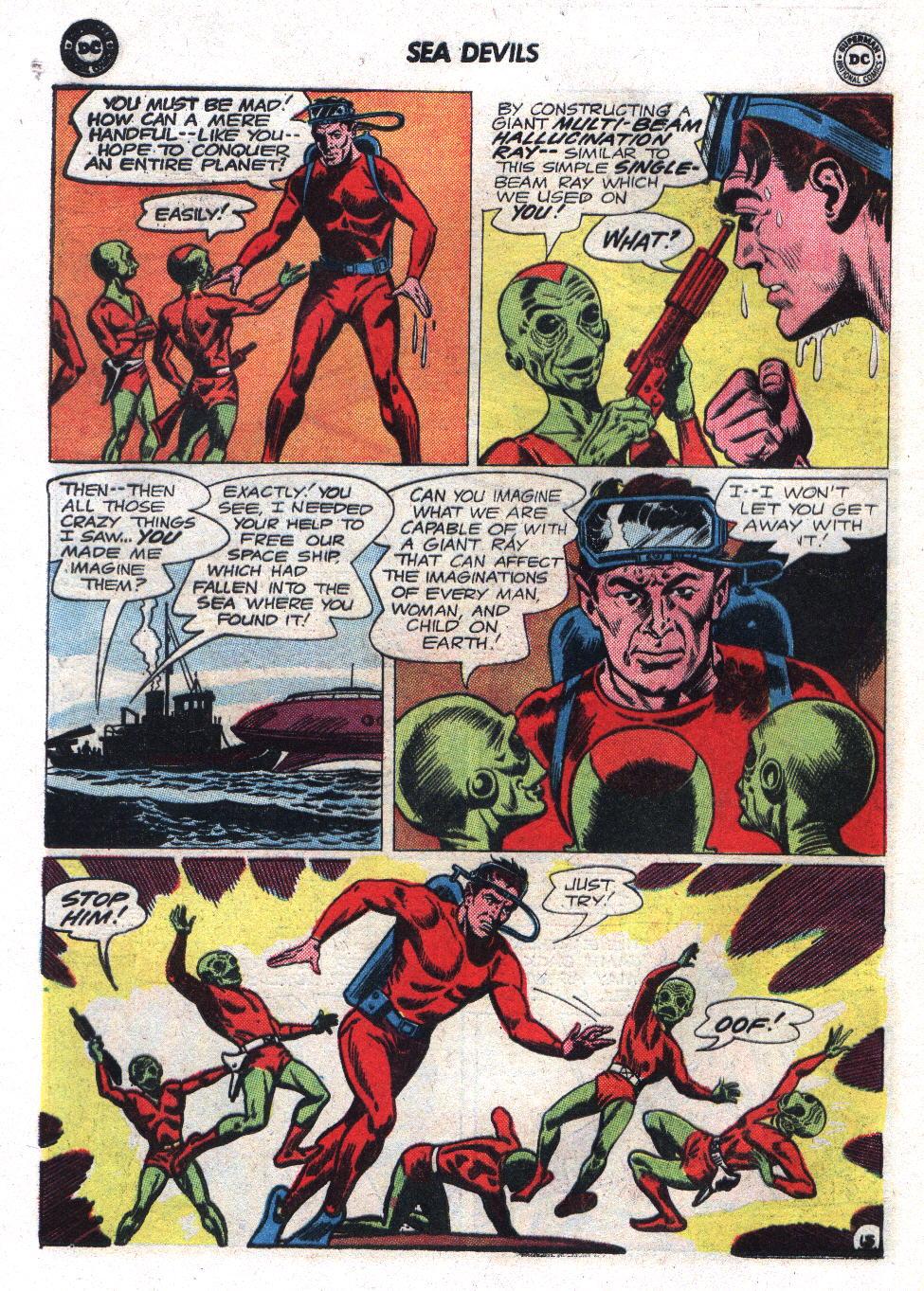 Read online Sea Devils comic -  Issue #17 - 20