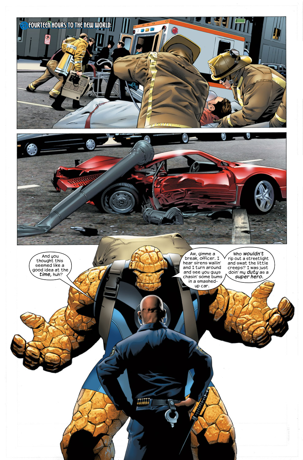 Read online Ultimate Fantastic Four (2004) comic -  Issue #27 - 11