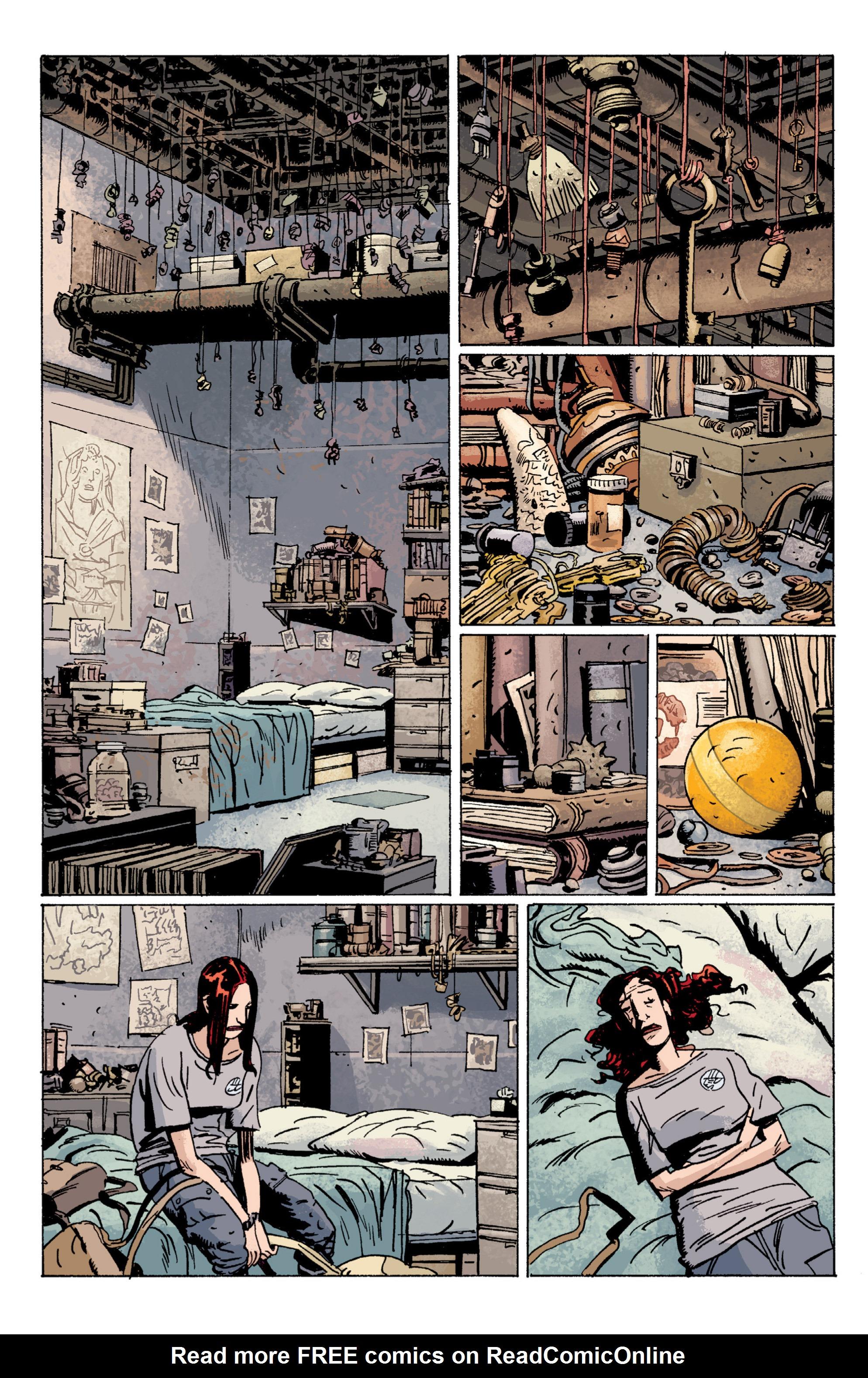 Read online B.P.R.D. (2003) comic -  Issue # TPB 5 - 87