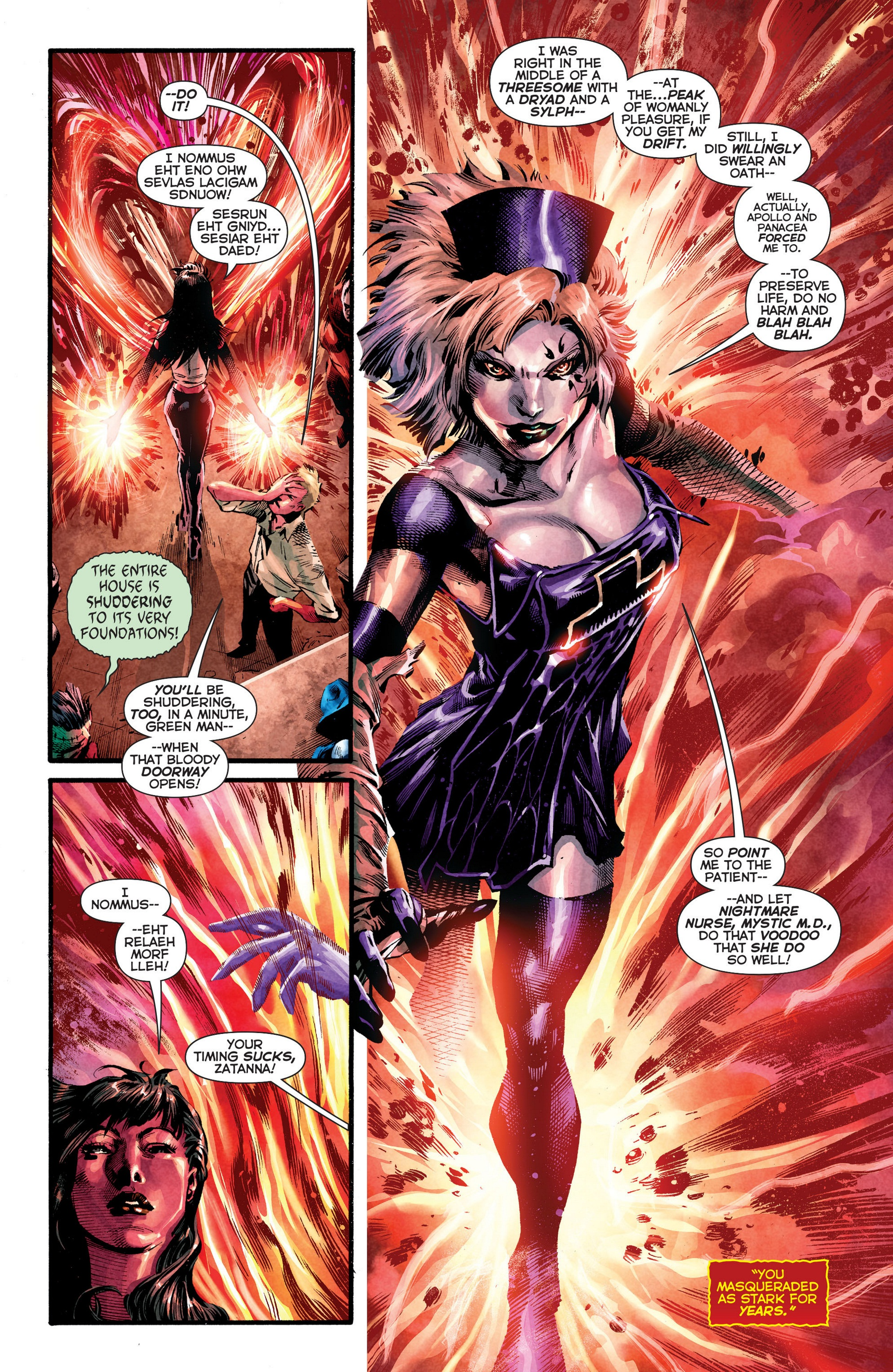 Read online Trinity of Sin: The Phantom Stranger comic -  Issue #8 - 10